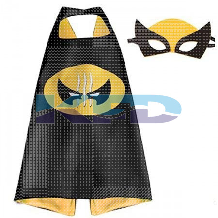 Wolverine Robe For Kids/California Costume For kids/Superhero Robe For kids/For Kids Annual function/Theme Party/Competition/Stage Shows/Birthday Party Dress