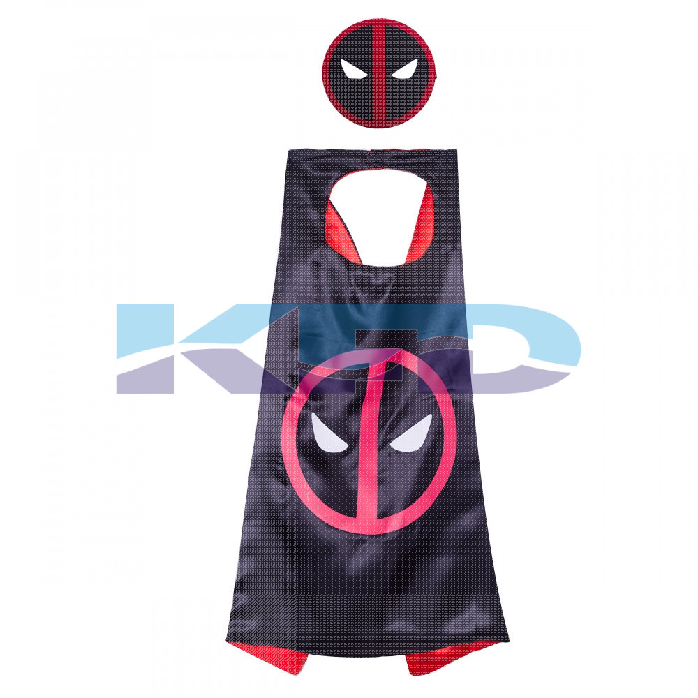 Deadpool Robe For Kids/California Costume For kids/Superhero Robe For kids/For Kids Annual function/Theme Party/Competition/Stage Shows/Birthday Party Dress