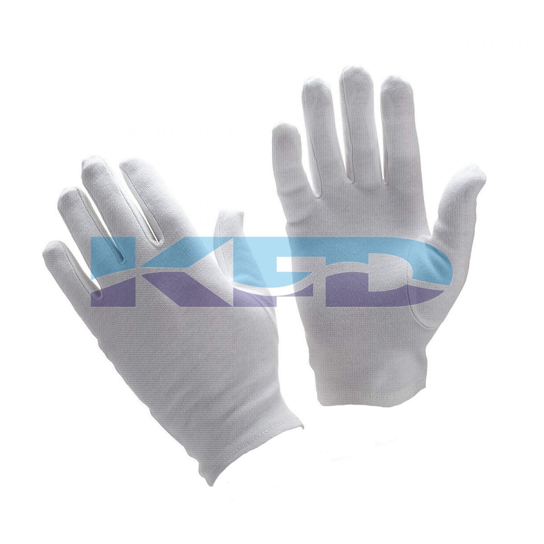 White Hand Gloves