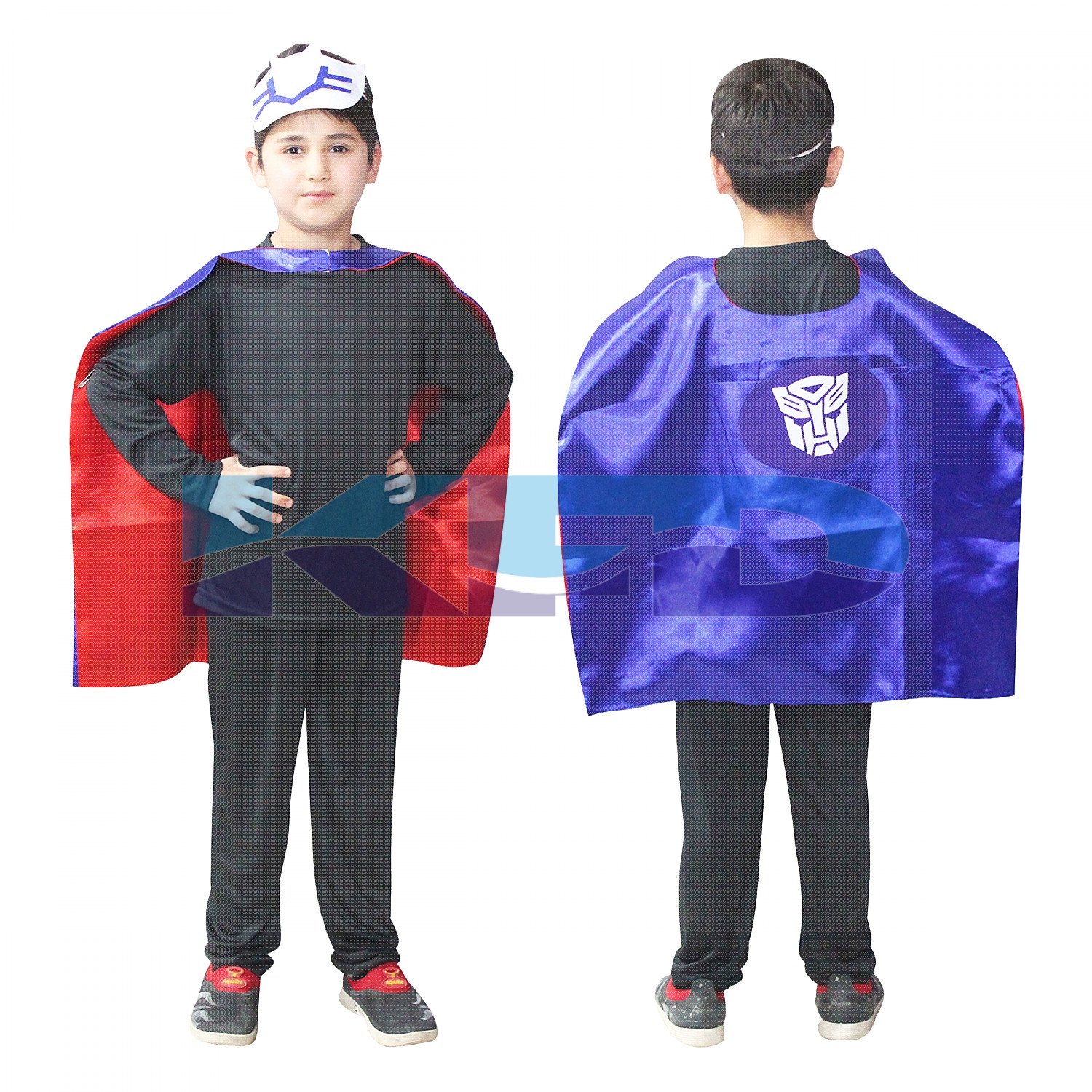 Transformer Robe For Kids/California Costume For kids/Superhero Robe For kids/For Kids Annual function/Theme Party/Competition/Stage Shows/Birthday Party Dress