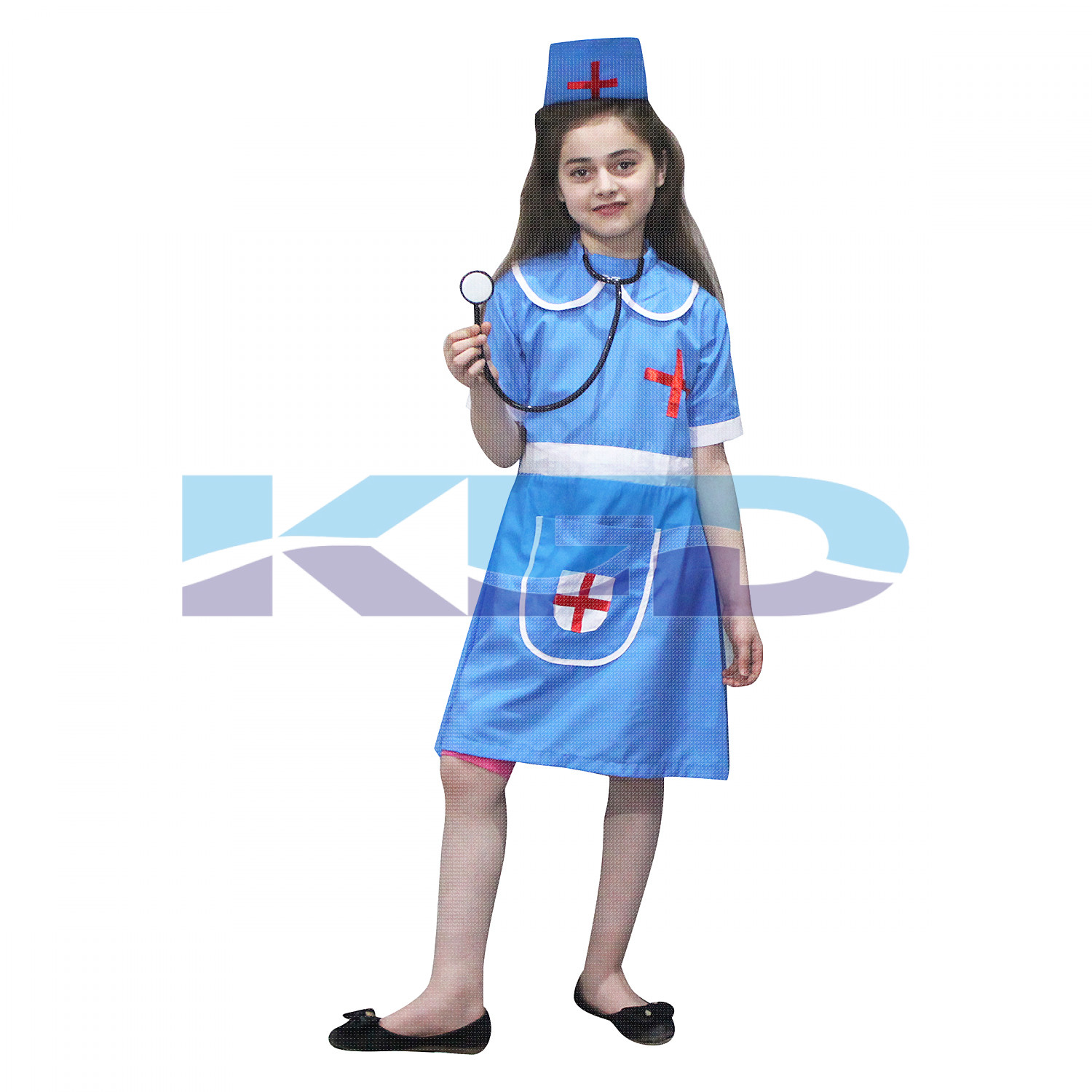 Nurse Fancy Dress For Kids,Our Helper Costume For Annual Function/Theme Party/Competition/Stage Shows Dress