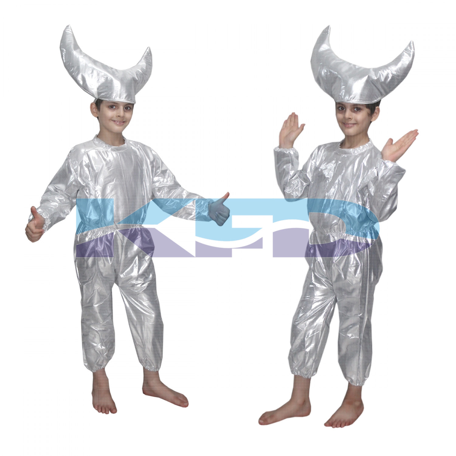 Moon fancy dress for kids,Nature Costume for Annual function/Theme Party/Stage Shows/Competition/Birthday Party Dress