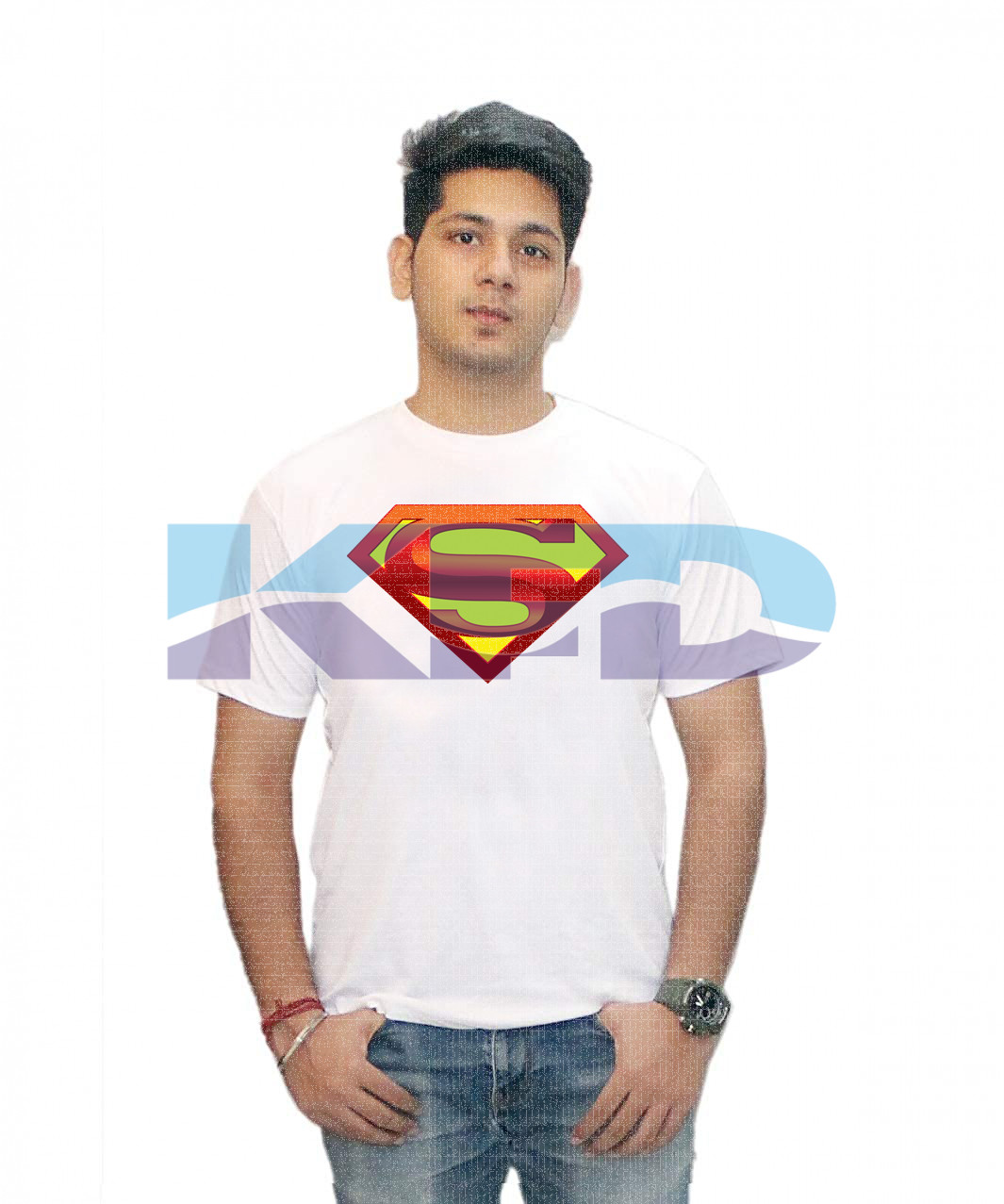 Super-T-shirt fancy dress for kids,Western Costume for Annual function/Theme Party/Competition/Stage Shows/Birthday Party Dress