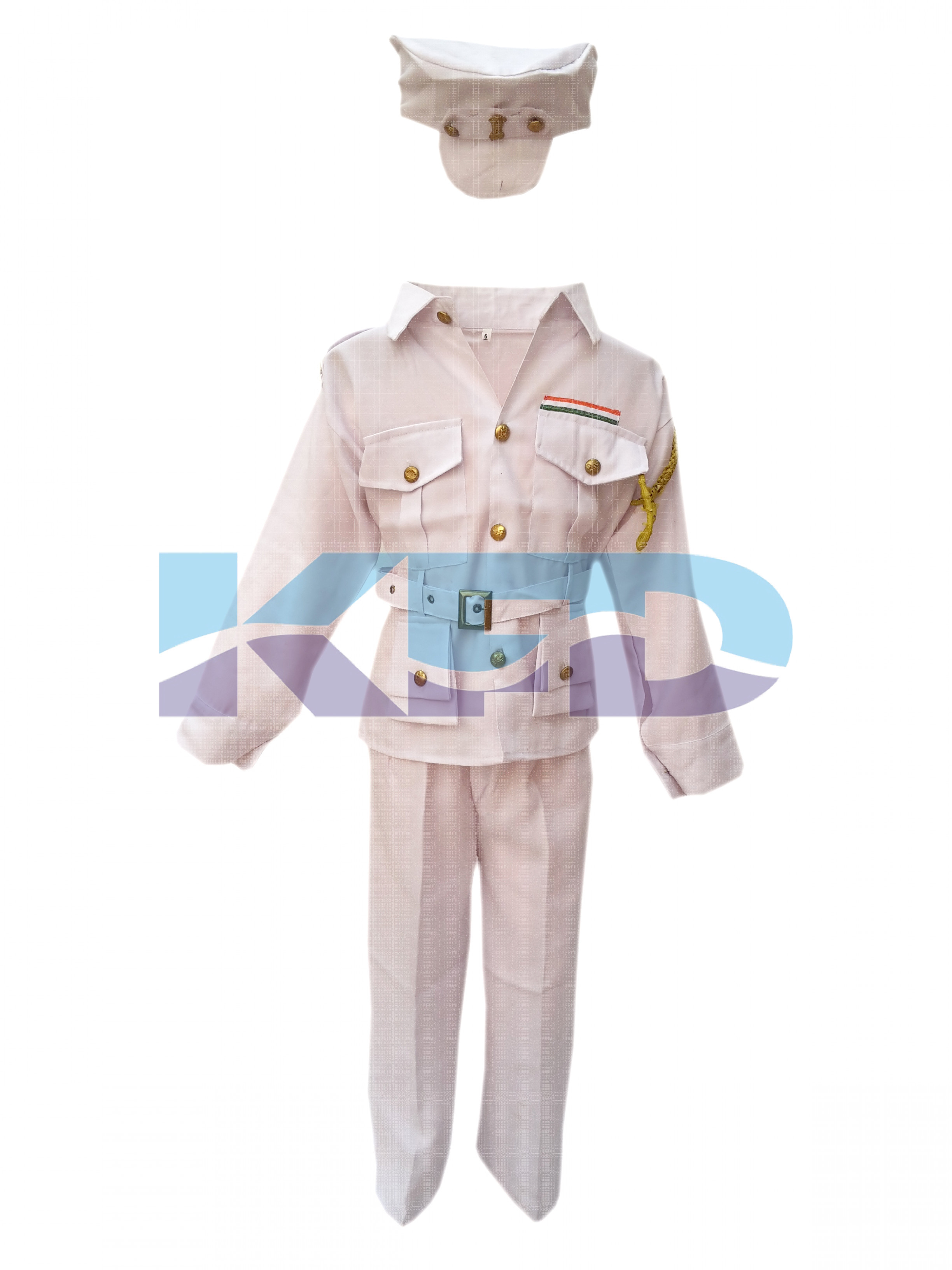 Indian Navy Fancy Dress For Kids,Our Helper/National Hero Costume For Annual Function/Theme Party/Competition/Stage Shows Dress