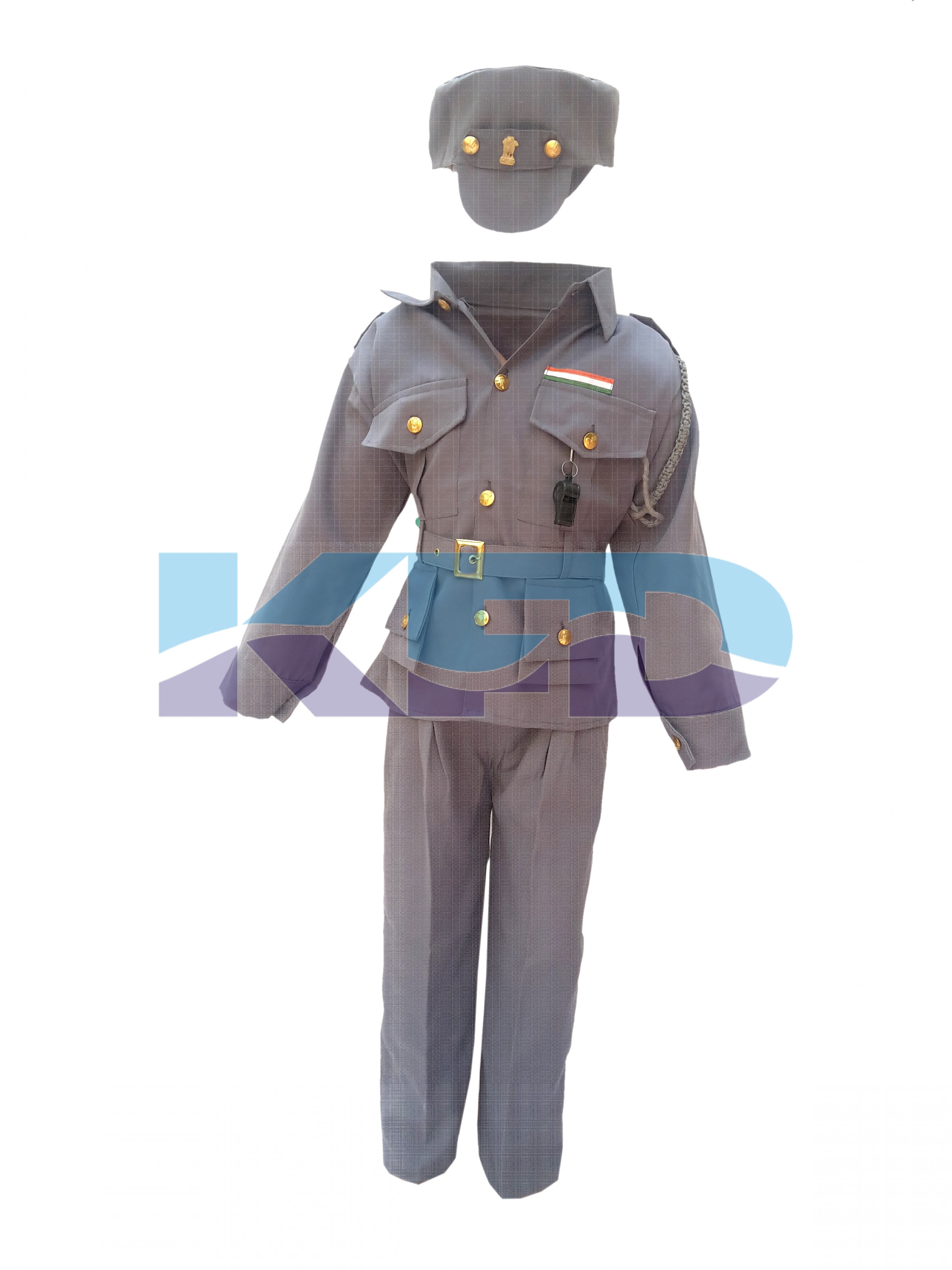 Indian Air Force Fancy Dress For Kids,Our Helper/National Hero Costume For Annual Function/Theme Party/Competition/Stage Shows Dress
