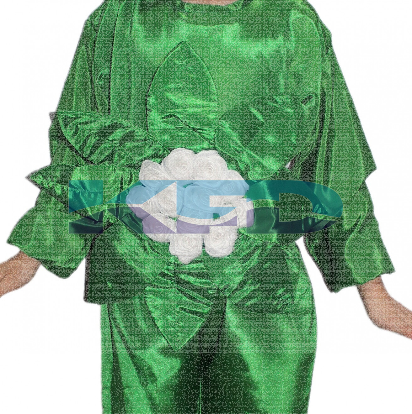 Cauliflower Vegetables Costume only cutout with Cap for Annual function/Theme Party/Competition/Stage Shows/Birthday Party Dress