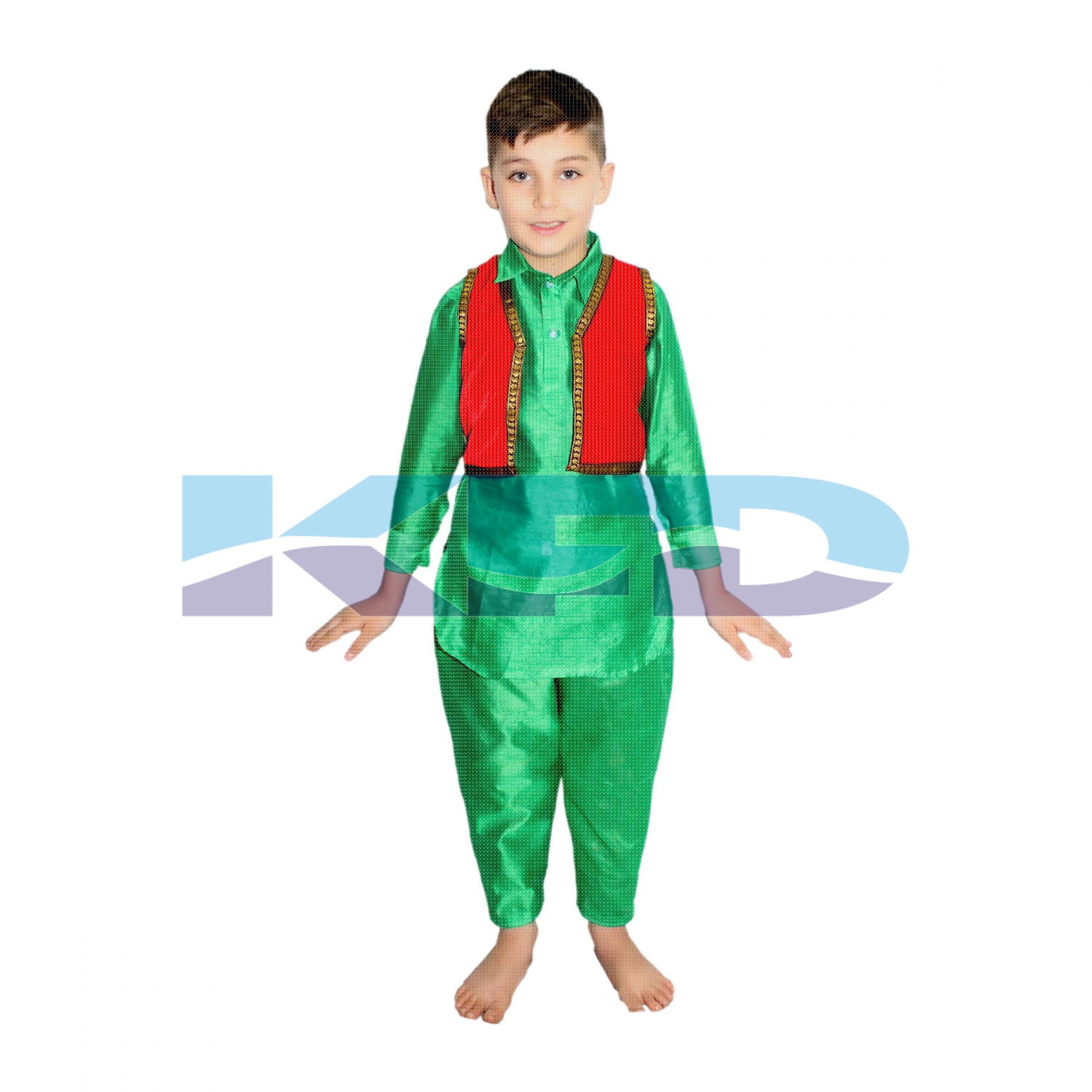 9f32ba4bf More Views. Kashmiri Boy/Pathani boy/ State Dance Traditional Wear Costume  For Kids ...