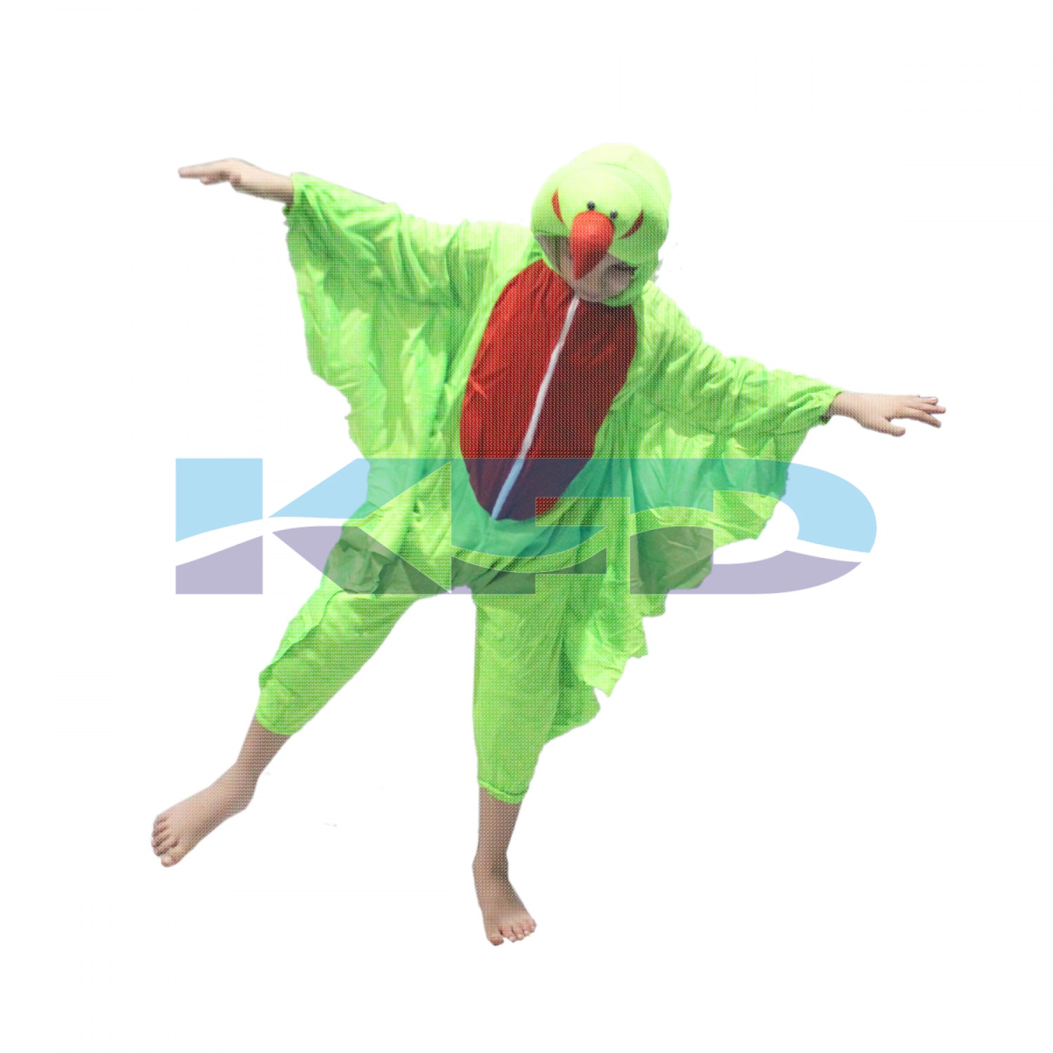 Parrot fancy dress for kids,Bird Costume for School Annual function/Theme Party/Competition/Stage Shows Dress
