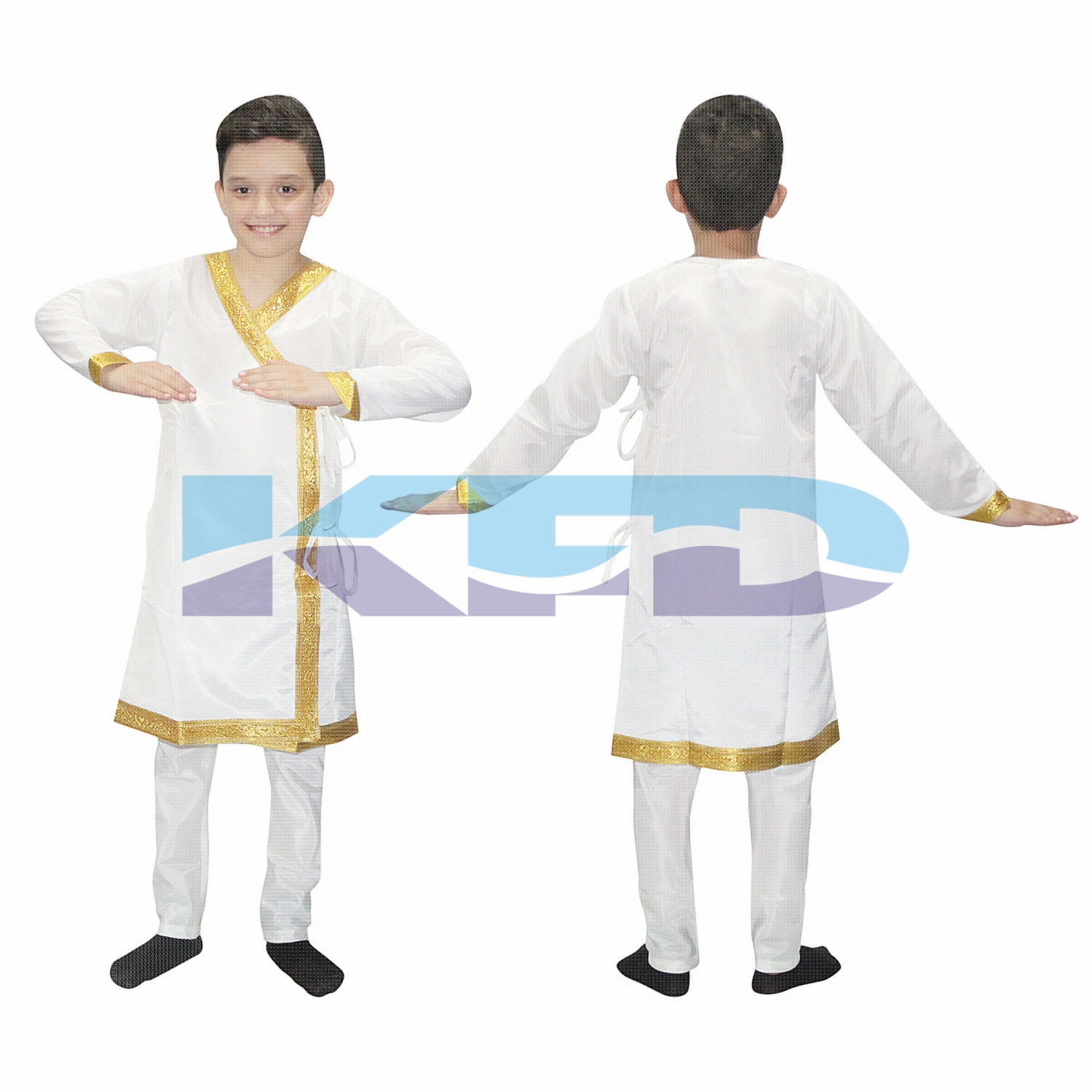 Kathak Dress For Boy/Dance Costume/Classical Dancewear/Kathak Dance Costume/Theme Party/Competition/Stage Shows/Birthday Party Dress