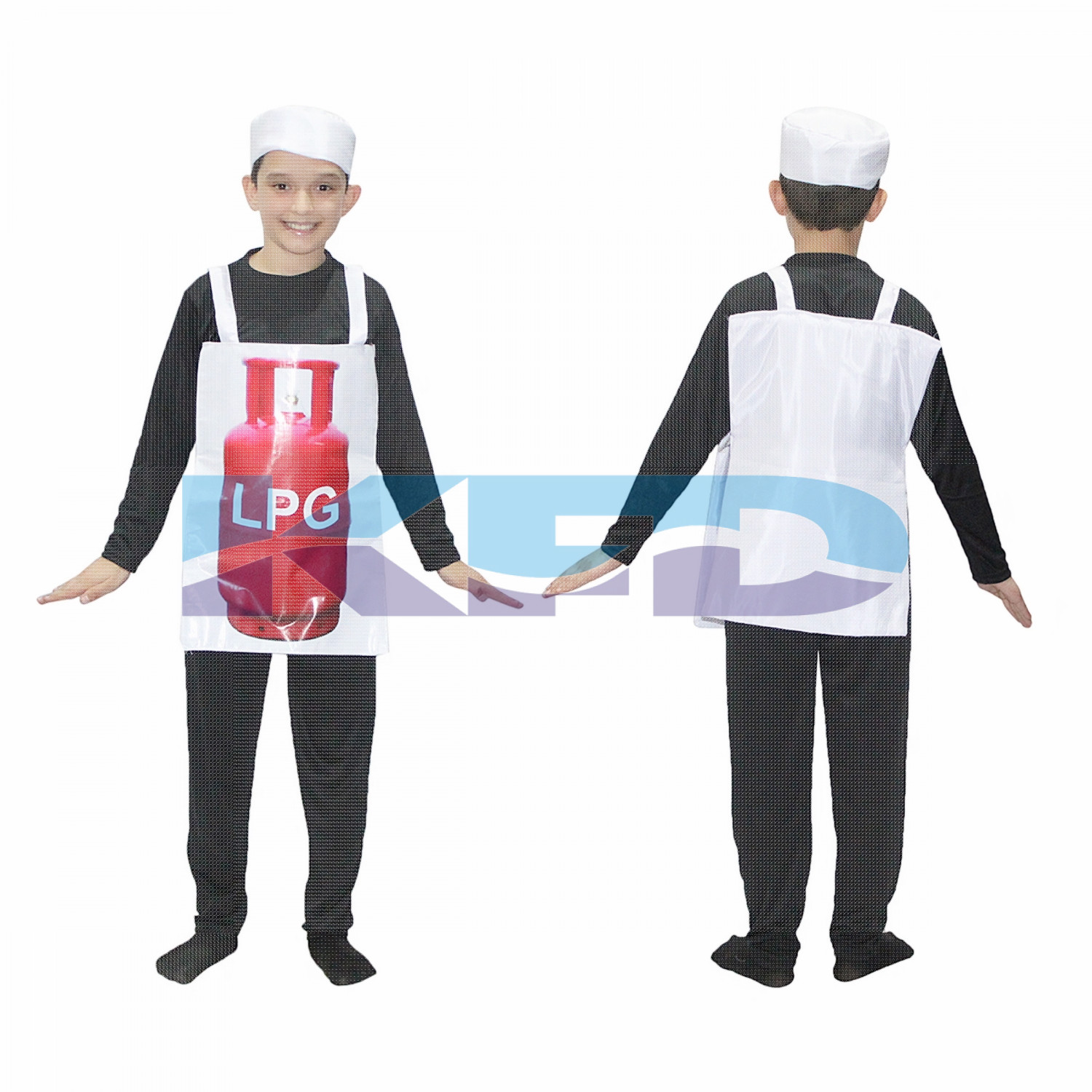LPG Gas Cylinder Costume For Kids/Object Fancy Dress For Kids/For Kids Annual function/Theme Party/Competition/Stage Shows/Birthday Party Dress