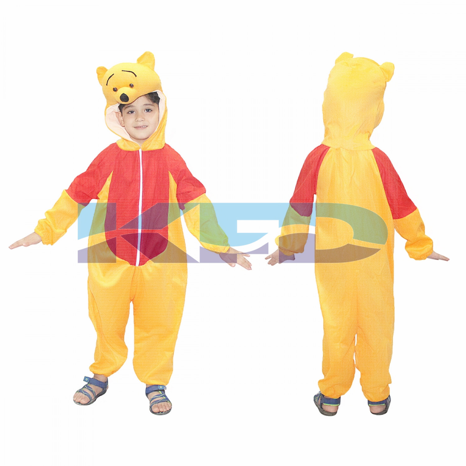 Pooh Fancy dress for kids,Diseny Cartoon Costume for Annual function/Theme Party/Stage Shows/Competition/Birthday Party Dress