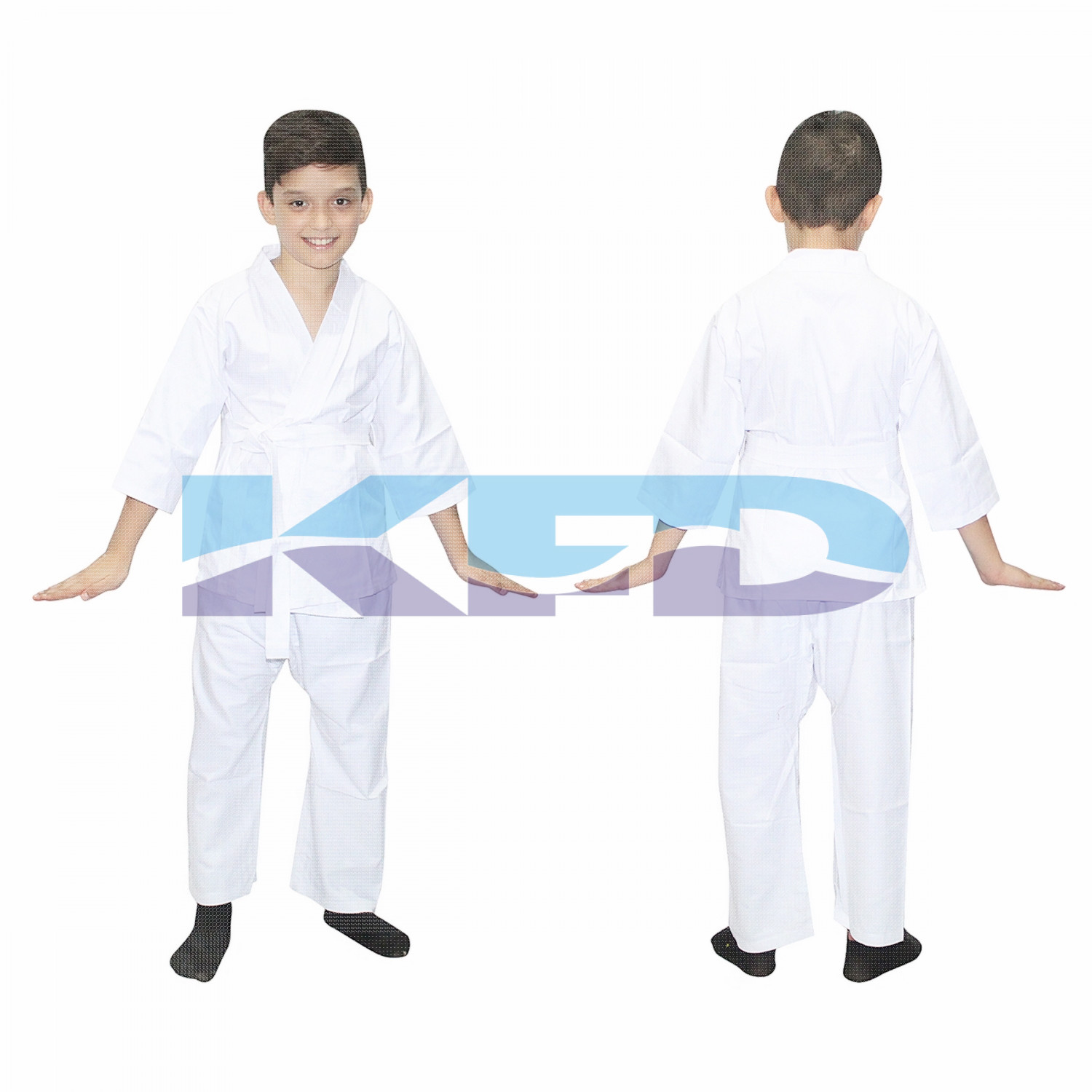 Karate fancy dress for kids,Martial Art/Fighting Costume for School Annual function/Theme Party/Competition/Stage Shows Dress
