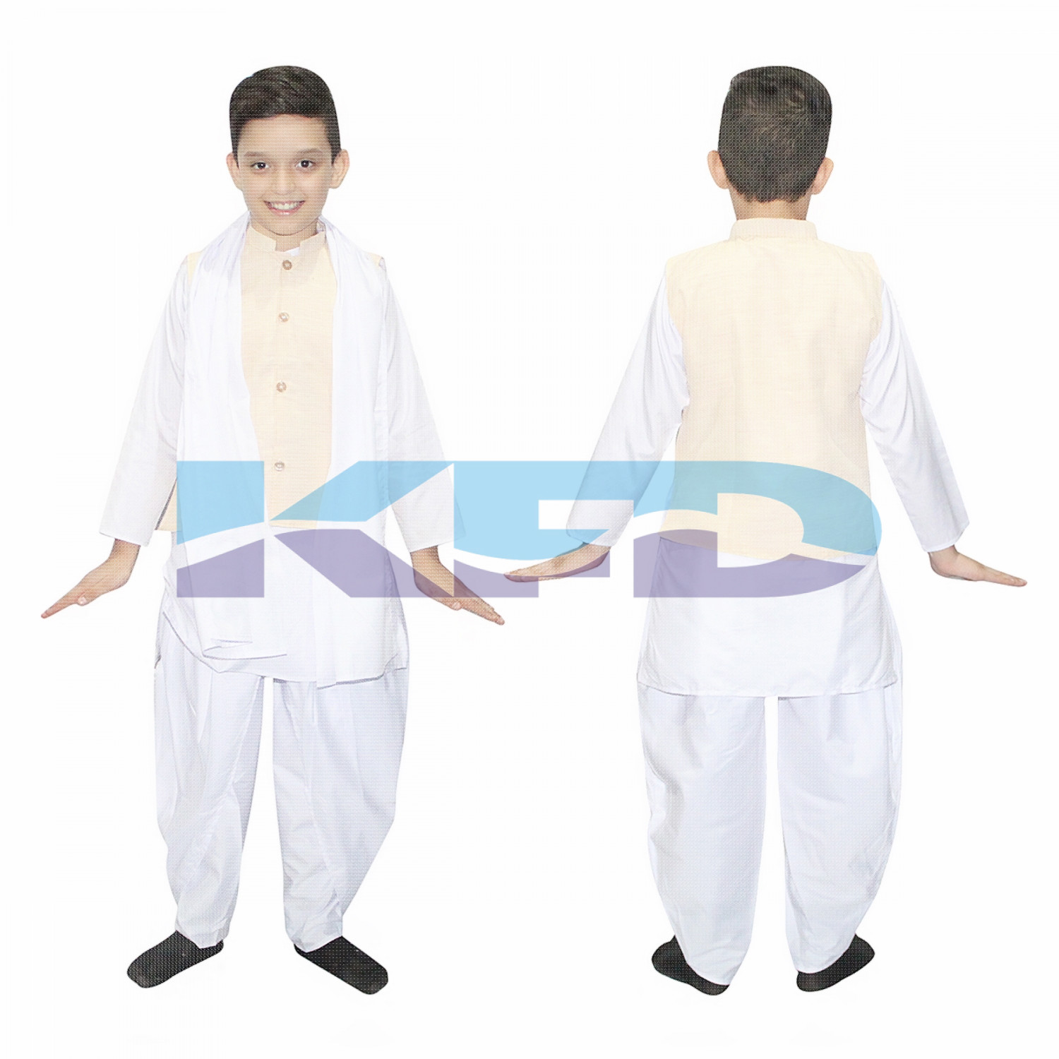 Sardar VallabhBhai Patel Costume For Kids/National Hero Fancy Dress/Politician Costume For Kids/School Annual function/Theme Party/Competition/Stage Shows Dress