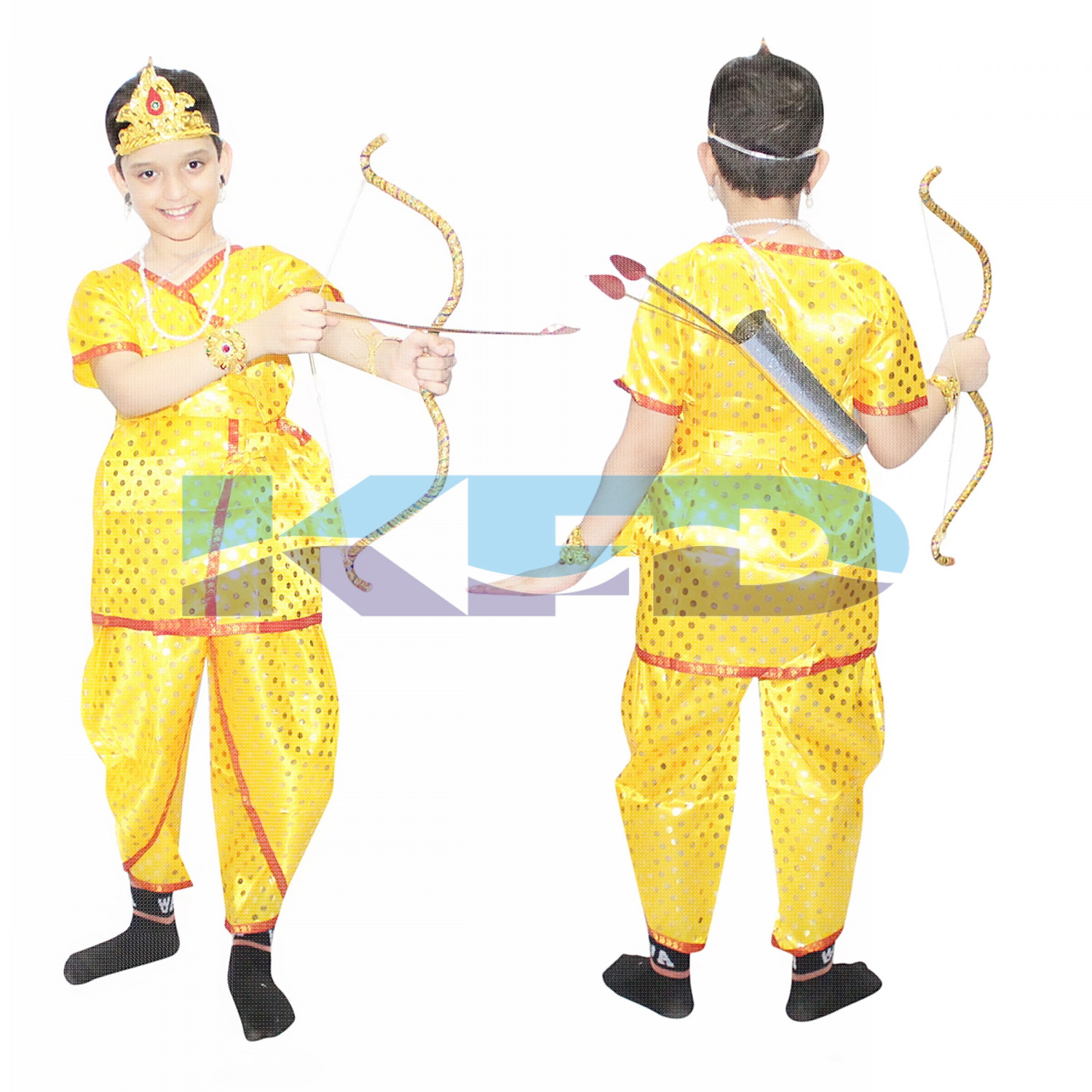 Ram Ji Dotted fancy dress for kids,Ramleela/Dussehra/Mythological Character for Annual function/Theme Party/Competition/Stage Shows Dress