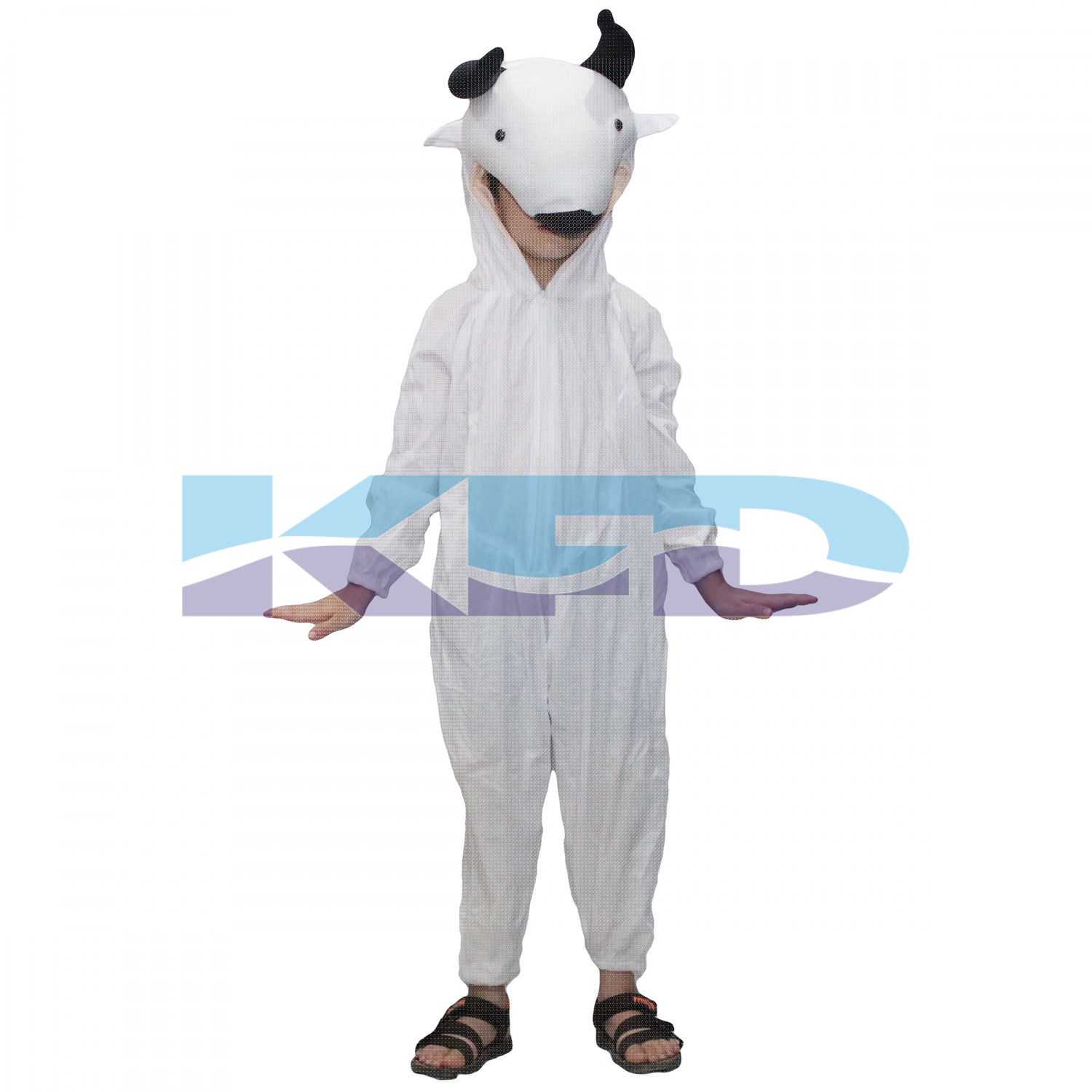 Cow fancy dress for kids,Farm Animal Costume for Annual function/Theme Party/Competition/Stage Shows Dress