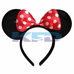 Minnie Mouse Hair Band 3pc set accessories for kids