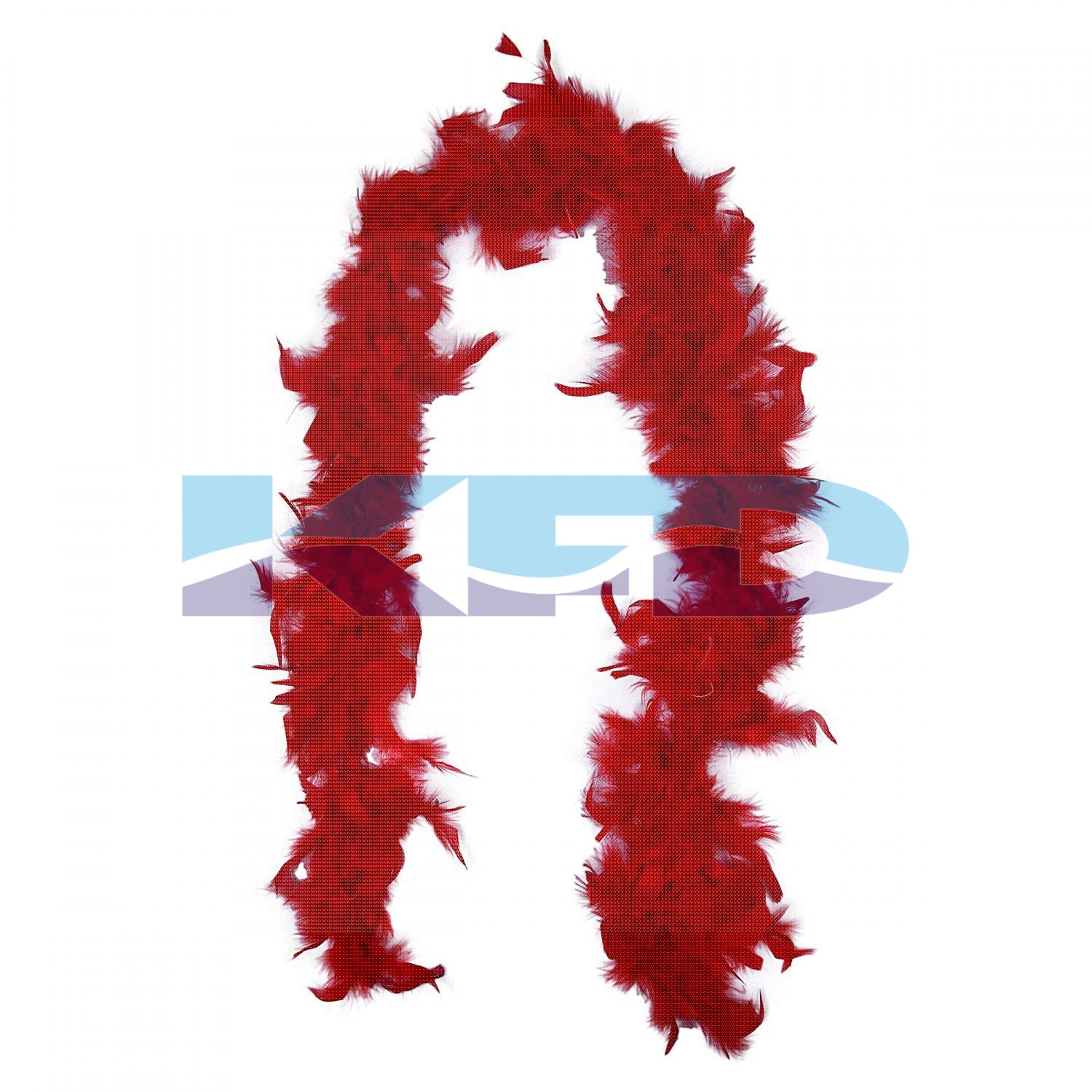 Red Feather Boa Stole,Fluffy,Fashion Show/Wedding Party/Valentine Day Party/Theme Party/Bachelorette Party Dress Up Scarf/Retro Theme