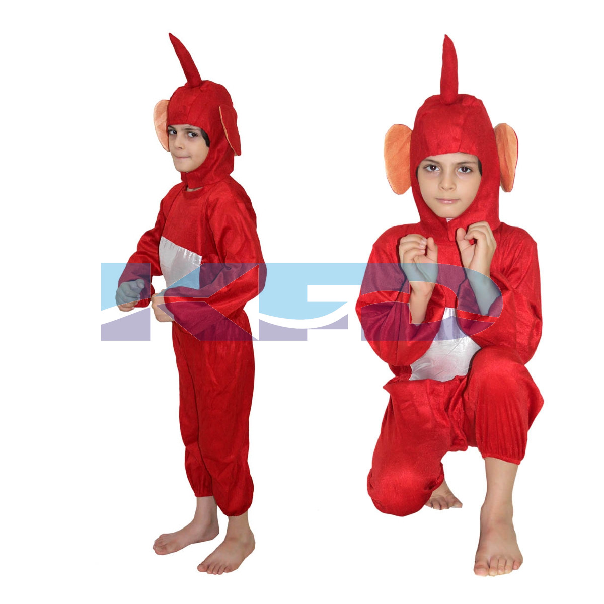 Teletubbies Red Cartoon Costume For School Annual function/Theme Party/Competition/Stage Shows/Birthday Party Dress