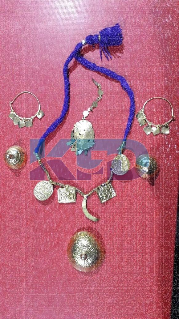 Punjabi Giddha Jewellery Saggi Phul/Punjabi Traditional jewellery/Punjabi Dance Jewellery/For Kids Annual function/Theme Party/Competition/Stage Shows/Birthday Party Dress