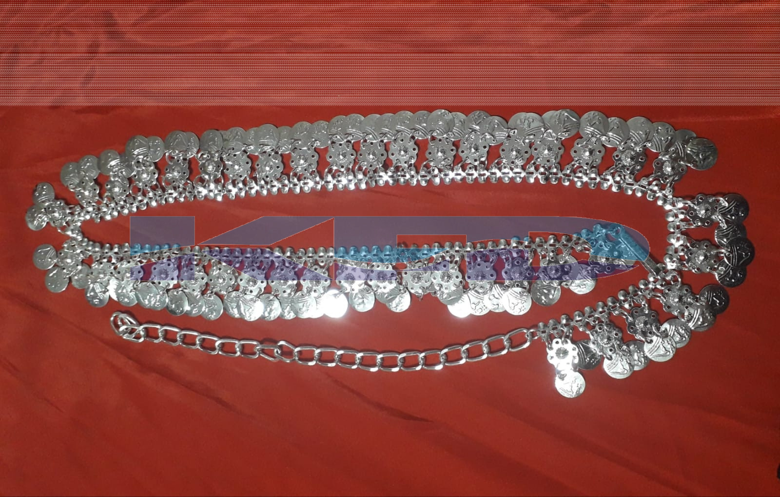 Silver Belt/Ethnic Jewellery/Typical Jewellery/Silver Jewellery/For Kids Annual function/Theme Party/Competition/Stage Shows/Birthday Party Dress