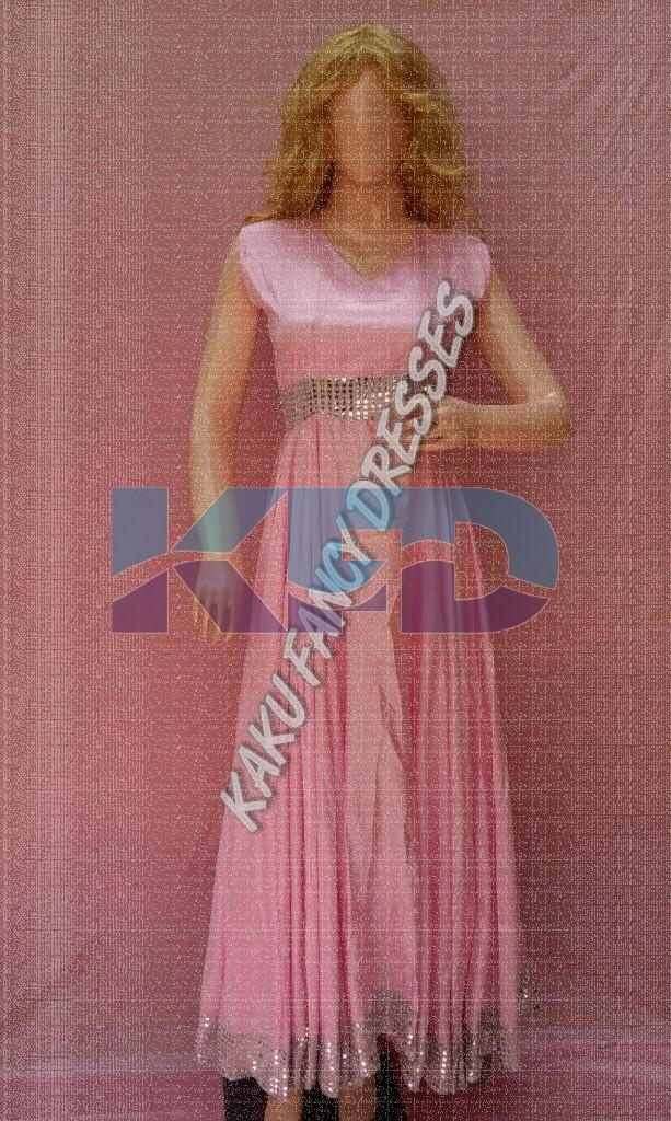 Pink Gown Heavy Fancy Dress