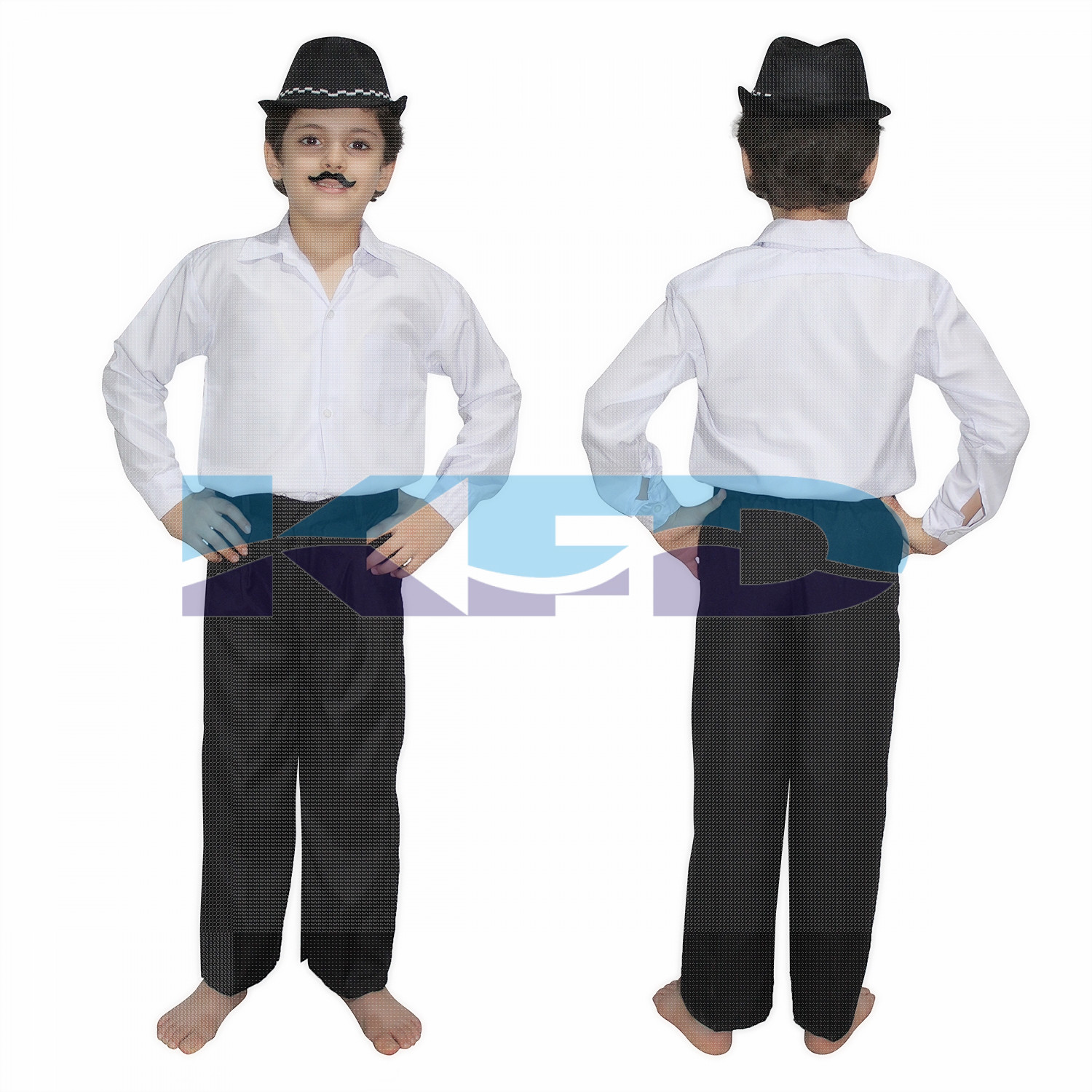 Bhagat Singh fancy dress for kids,National Hero/freedom figter Costume for Independence Day/Republic Day/Annual function/Theme party/Competition/Stage Shows Dress