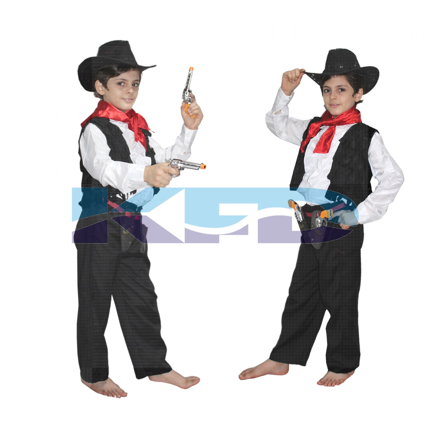 Cow Boy fancy dress for kids,Horse Riding Costume for Annual function/Theme Party/Competition/Stage Shows/Birthday Party Dress