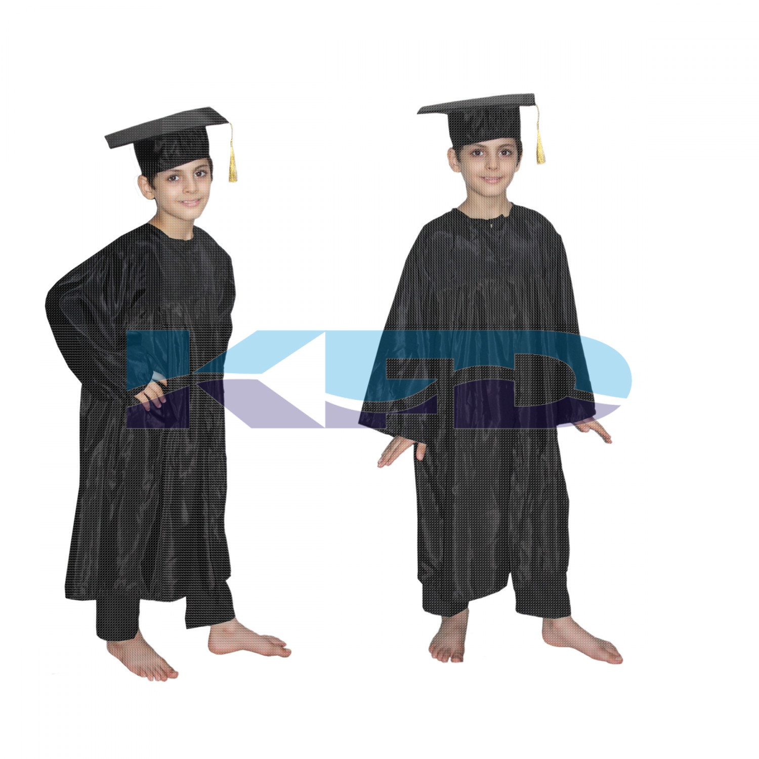 Graduation Gown/Degree Gown Fancy Dress For Kids,Costume For Convocation/Annual Function/Theme Party/Competition/Stage Shows Dress