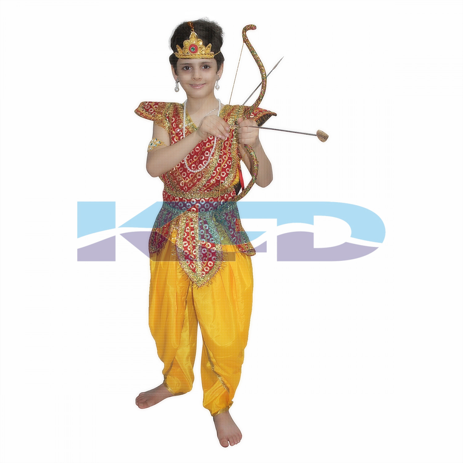 Lord Ram fancy dress for kids,Ramleela/Dussehra/Mythological Character for Annual function/Theme Party/Competition/Stage Shows Dress