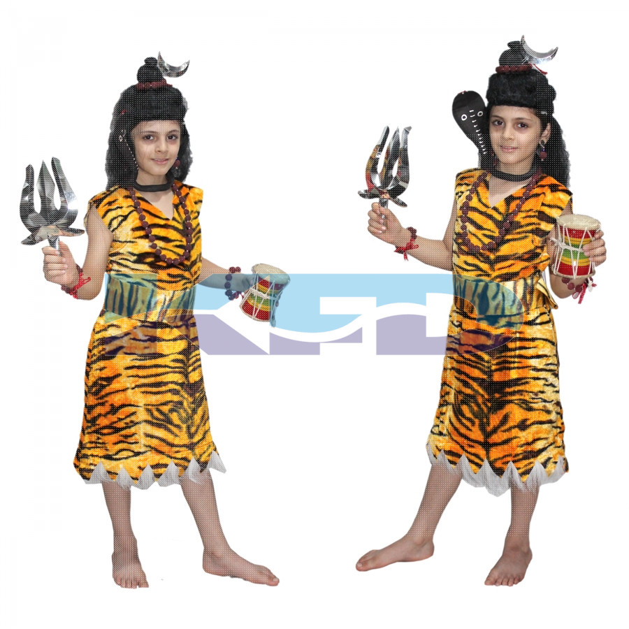 Lord Shiv Ji fancy dress for kids,Ramleela/Dussehra/Mythological Character for Annual function/Theme Party/Competition/Stage Shows Dress