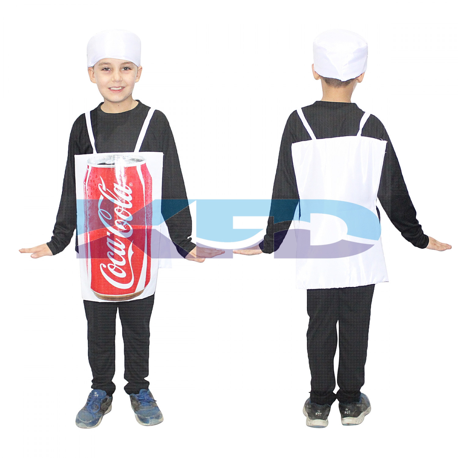 Coca Cola fancy dress for kids,Object Costume for School Annual function/Theme Party/Competition/Stage Shows Dress