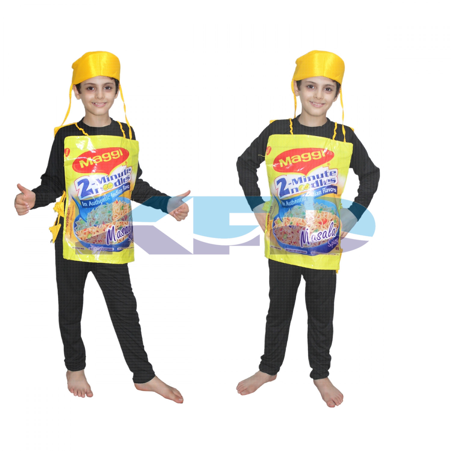 Maggi fancy dress for kids,Object Costume for School Annual function/Theme Party/Competition/Stage Shows Dress