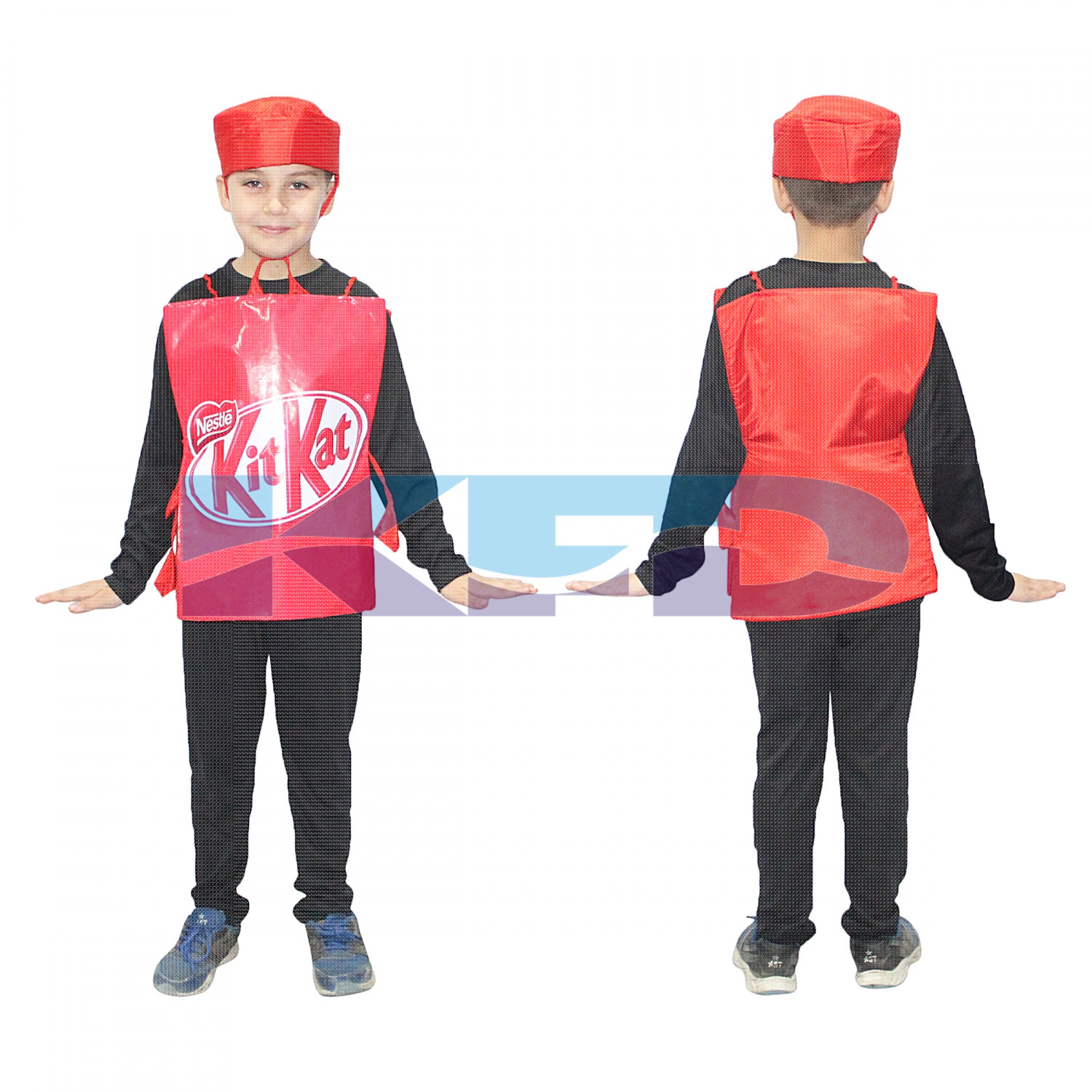 Kit kat fancy dress for kids,Object Costume for School Annual function/Theme Party/Competition/Stage Shows Dress