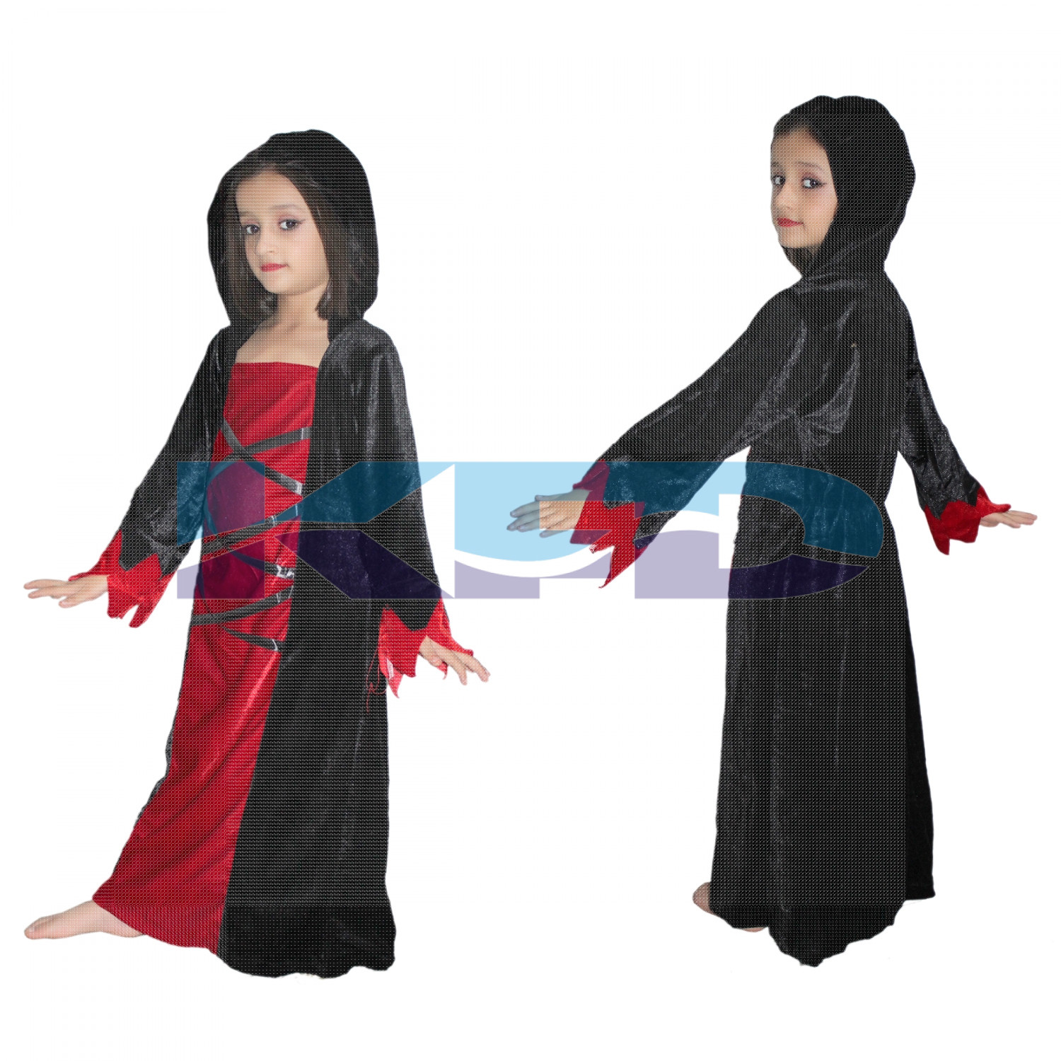 Witch Hood fancy dress for kids,Halloween Costume for School Annual function/Theme Party/Competition/Stage Shows/Birthday Party Dress