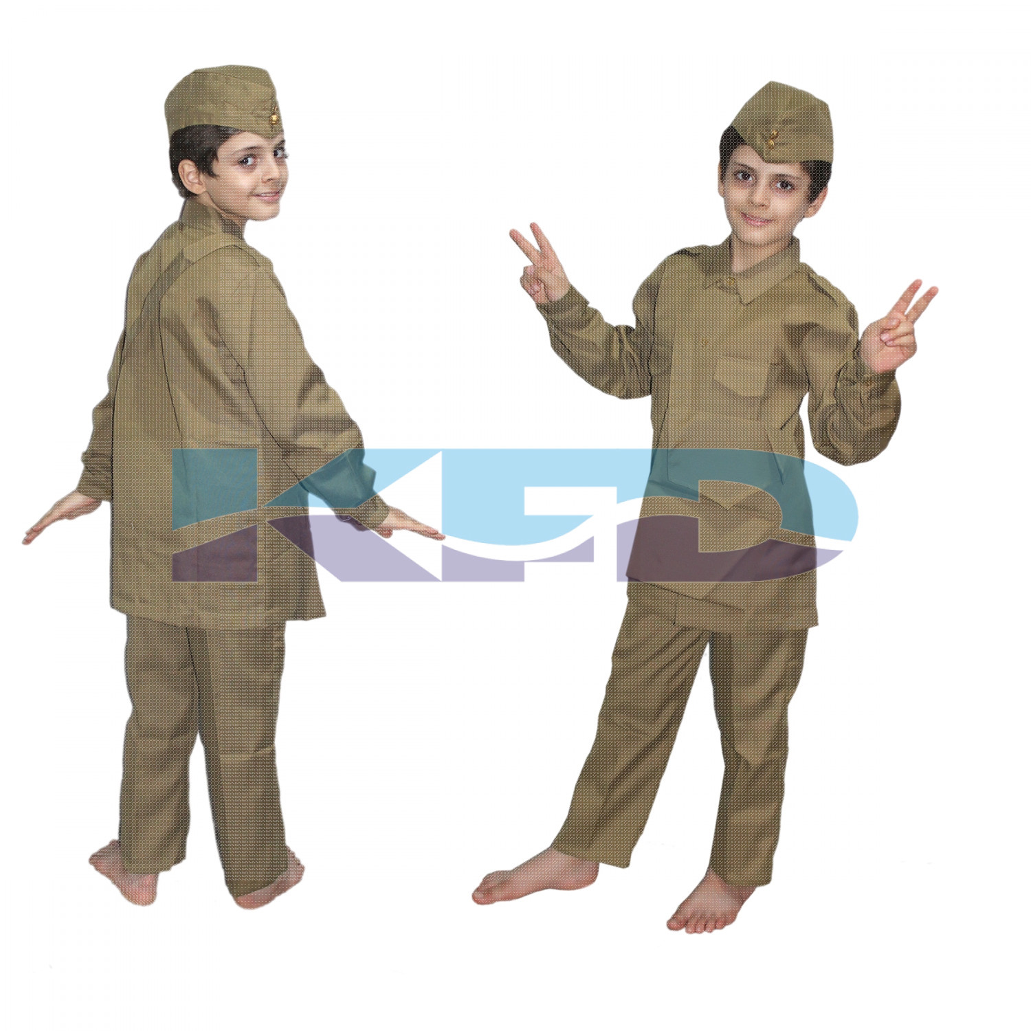 Postman Fancy Dress For Kids,Our Helper Costume For Annual Function/Theme Party/Competition/Stage Shows Dress