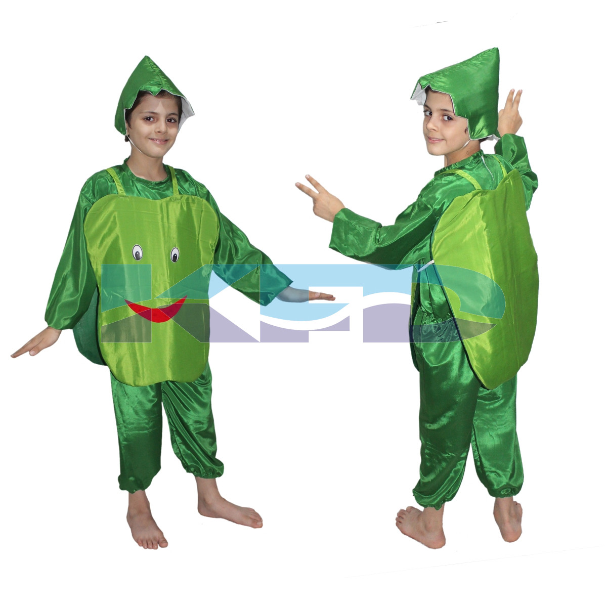 Capsicum fancy dress for kids,Vegetables Costume for Annual function/Theme Party/Competition/Stage Shows Dress