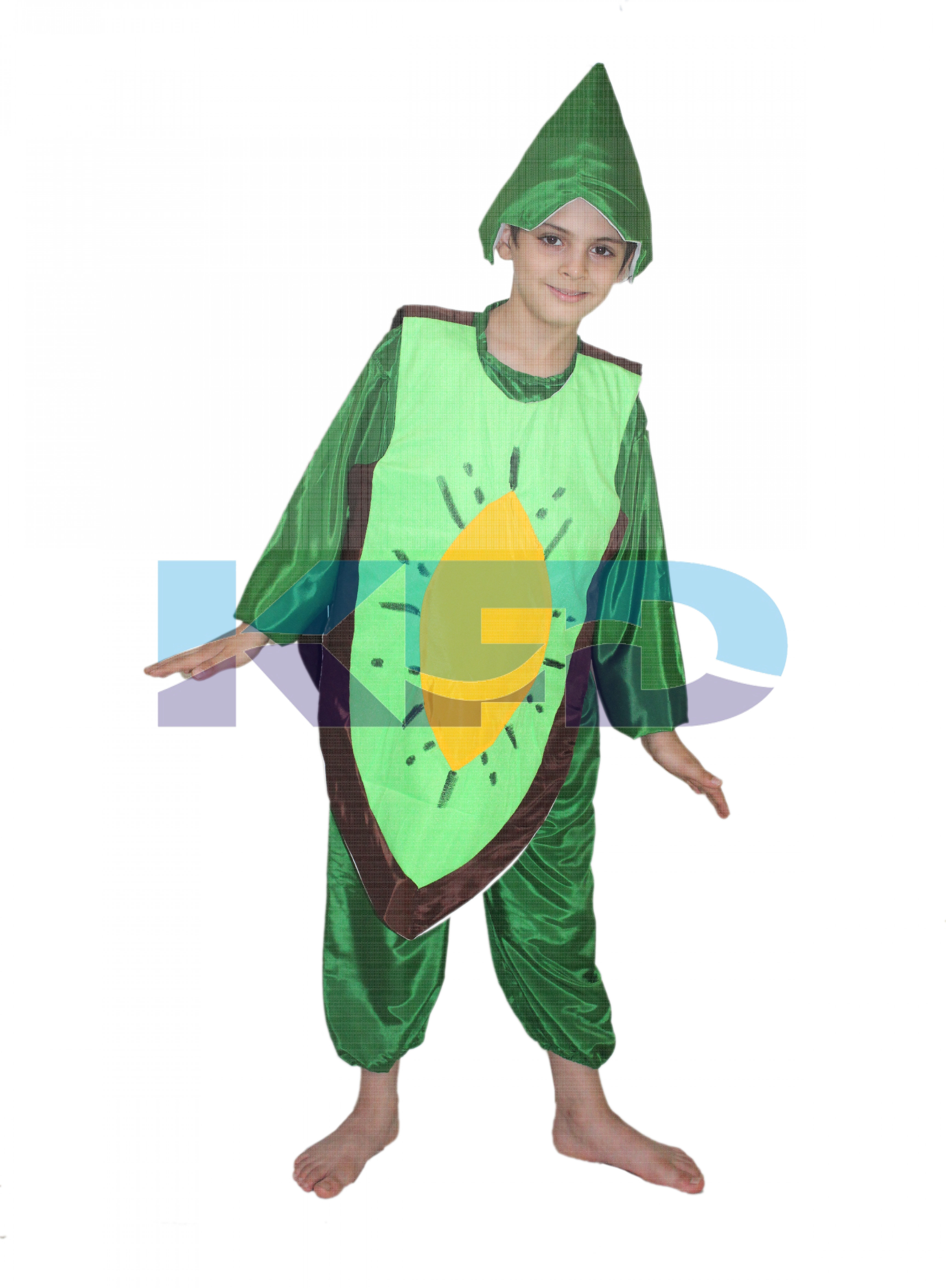 Kiwi fancy dress for kids,Fruits Costume for School Annual function/Theme Party/Competition/Stage Shows Dress