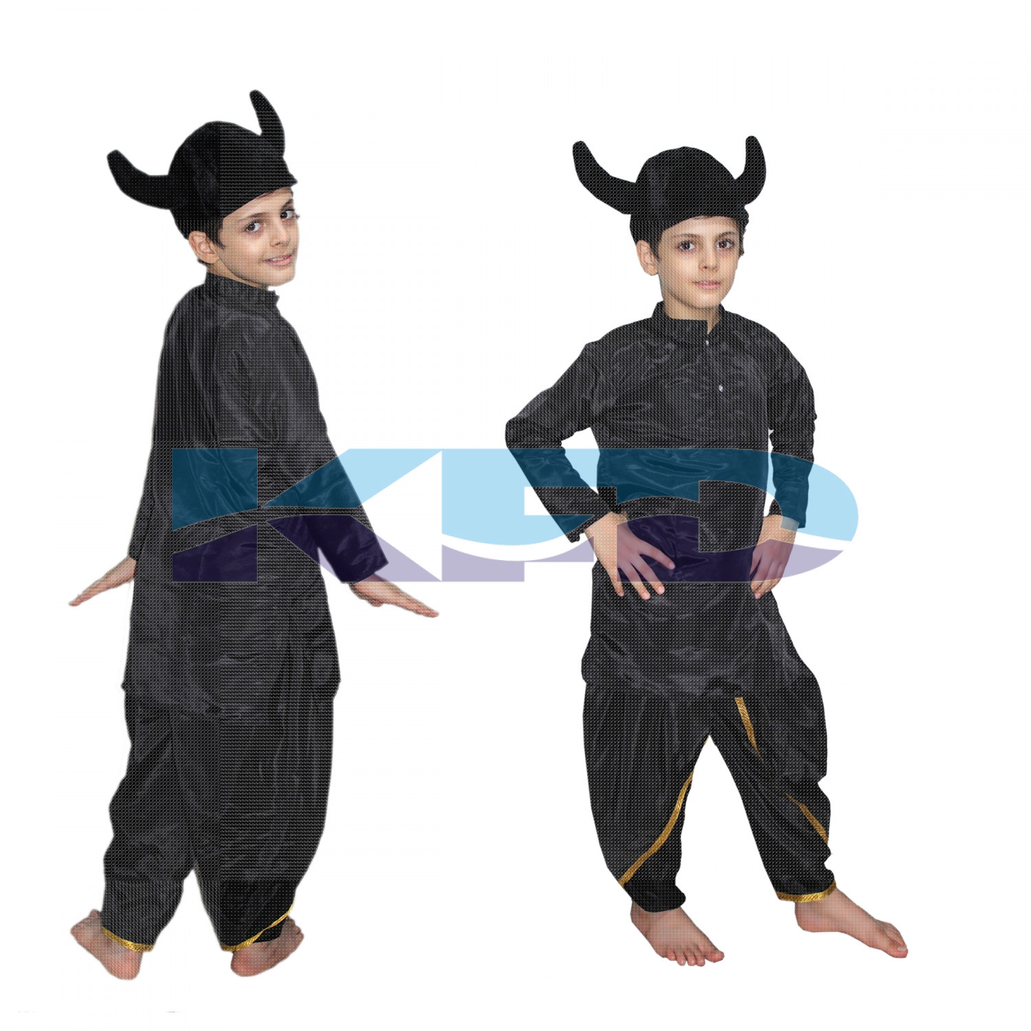 Rakshas Costume of Mythological Character For Kids School Annual function/Theme Party/Competition/Stage Shows Dress