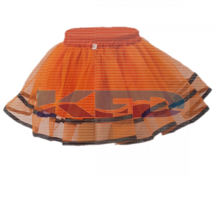 Tu Tu Skirt Orange fancy dress for kids,Western Costume for Annual function/Theme Party/Competition/Stage Shows/Birthday Party Dress