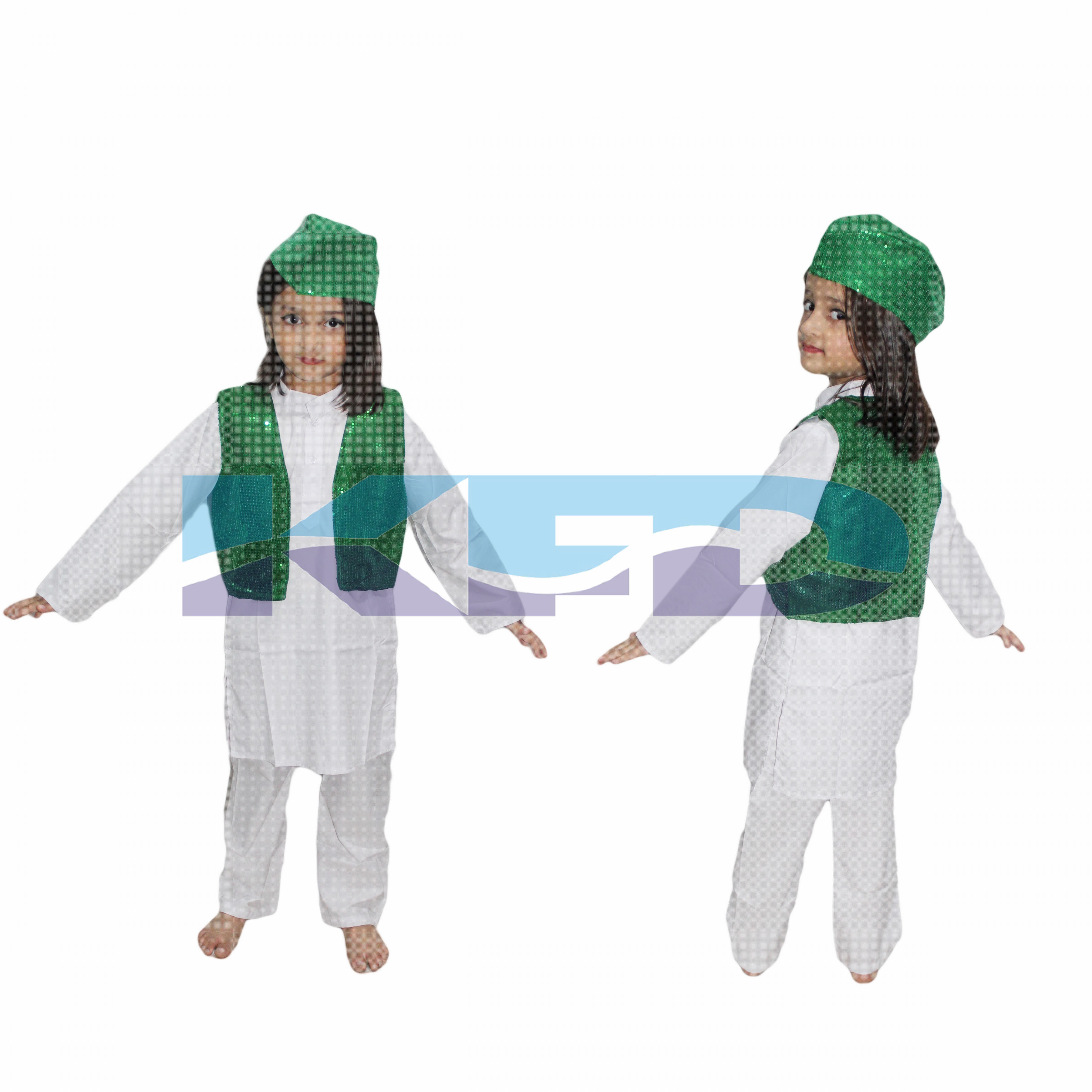 Qawwali Jacket Green
