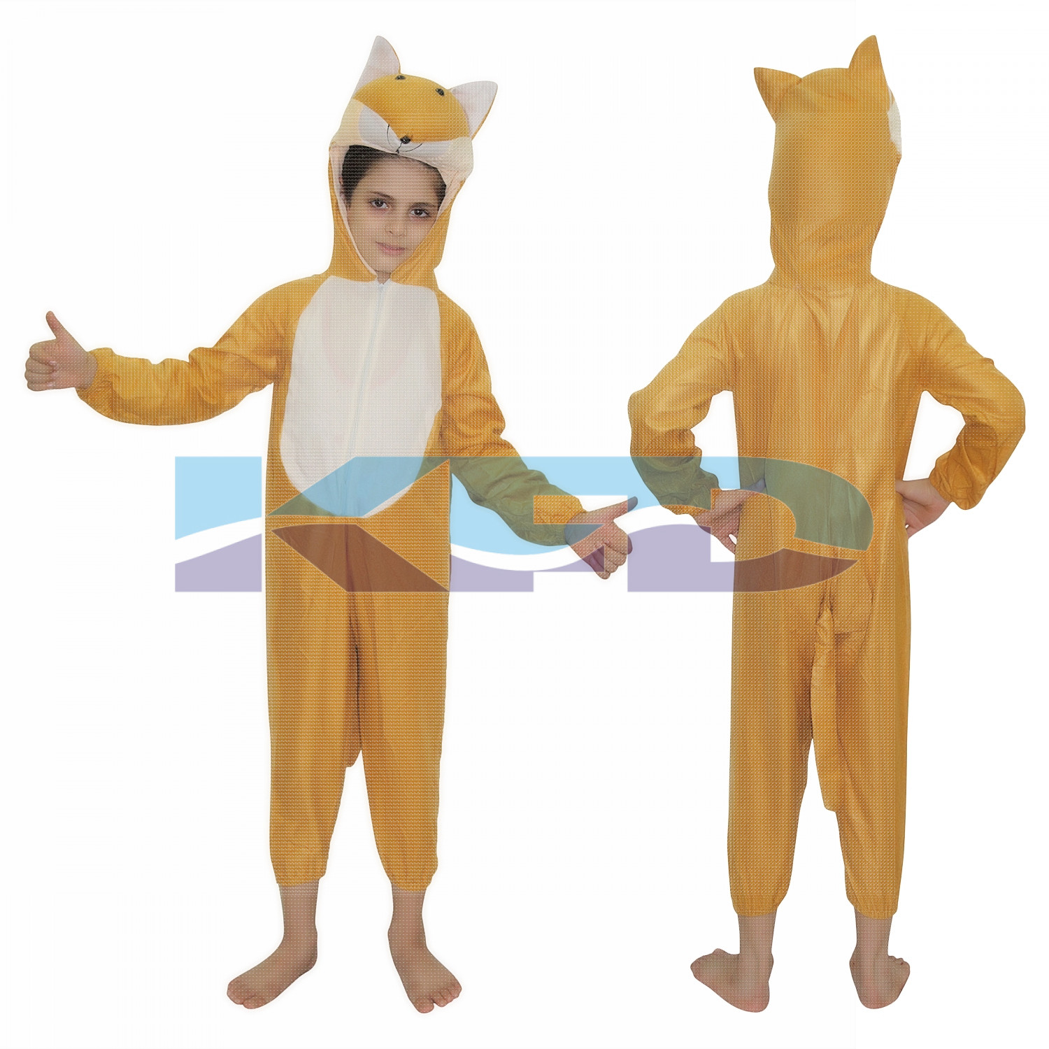 Fox fancy dress for kids,Wild Animal Costume for Annual function/Theme Party/Competition/Stage Shows/Birthday Party Dress