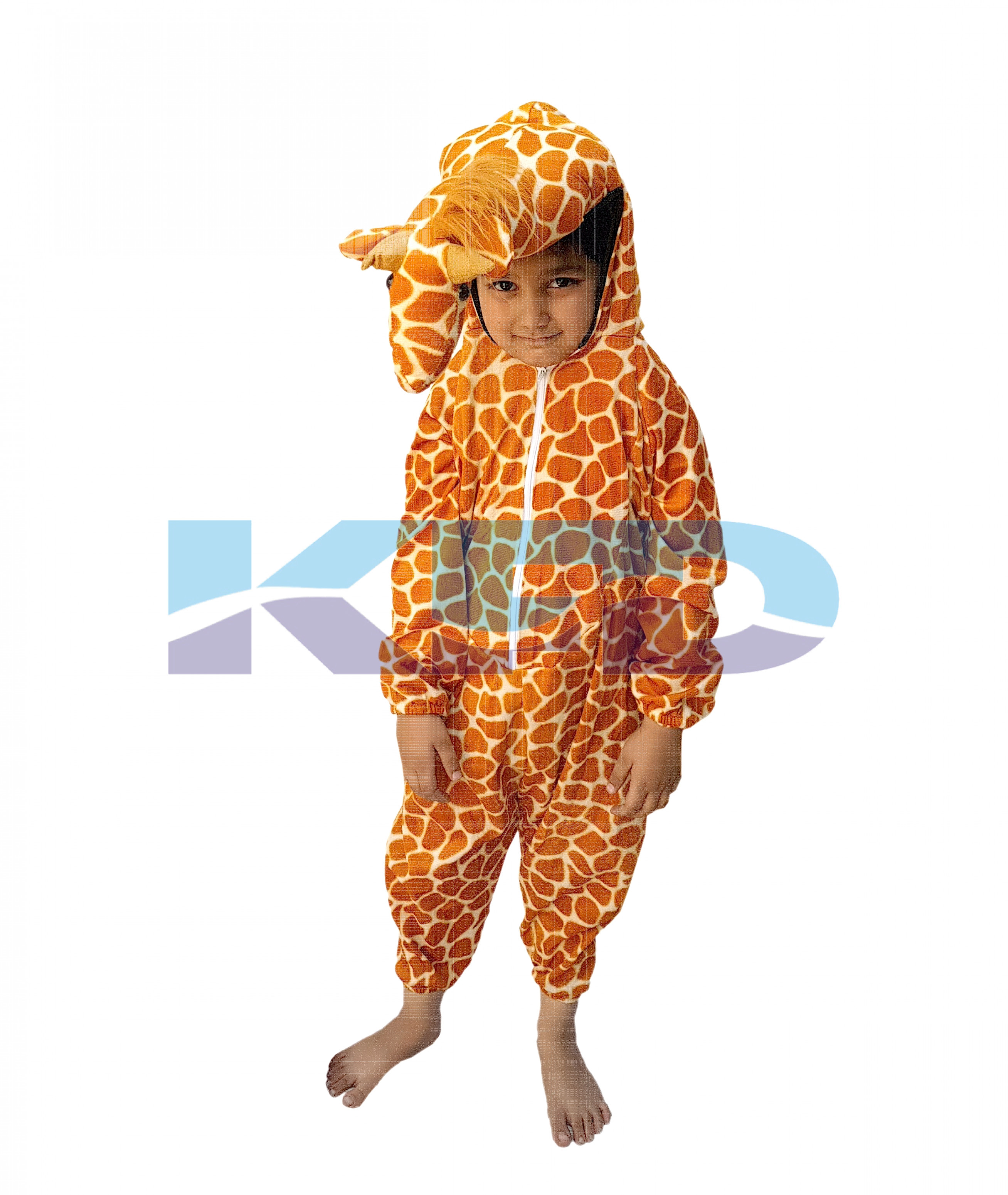 Giraffe fancy dress for kids,Wild Animal Costume for Annual function/Theme Party/Competition/Stage Shows/Birthday Party Dress