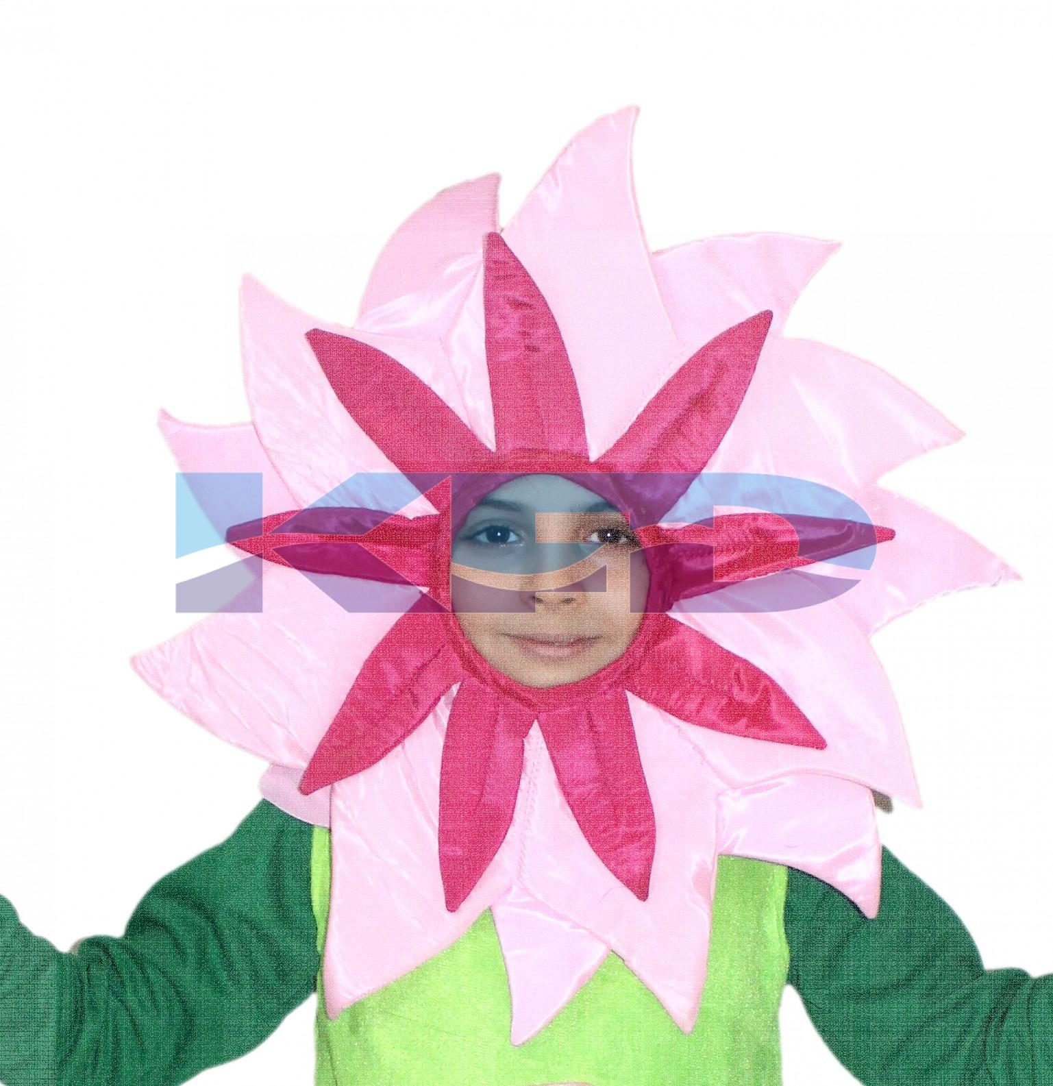 Pink Flower Face