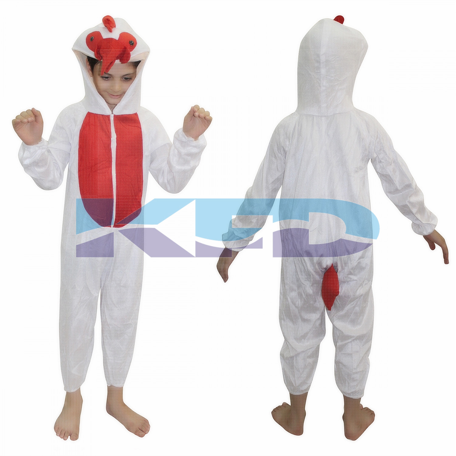 Cock fancy dress for kids,Bird Costume for School Annual function/Theme Party/Competition/Stage Shows Dress