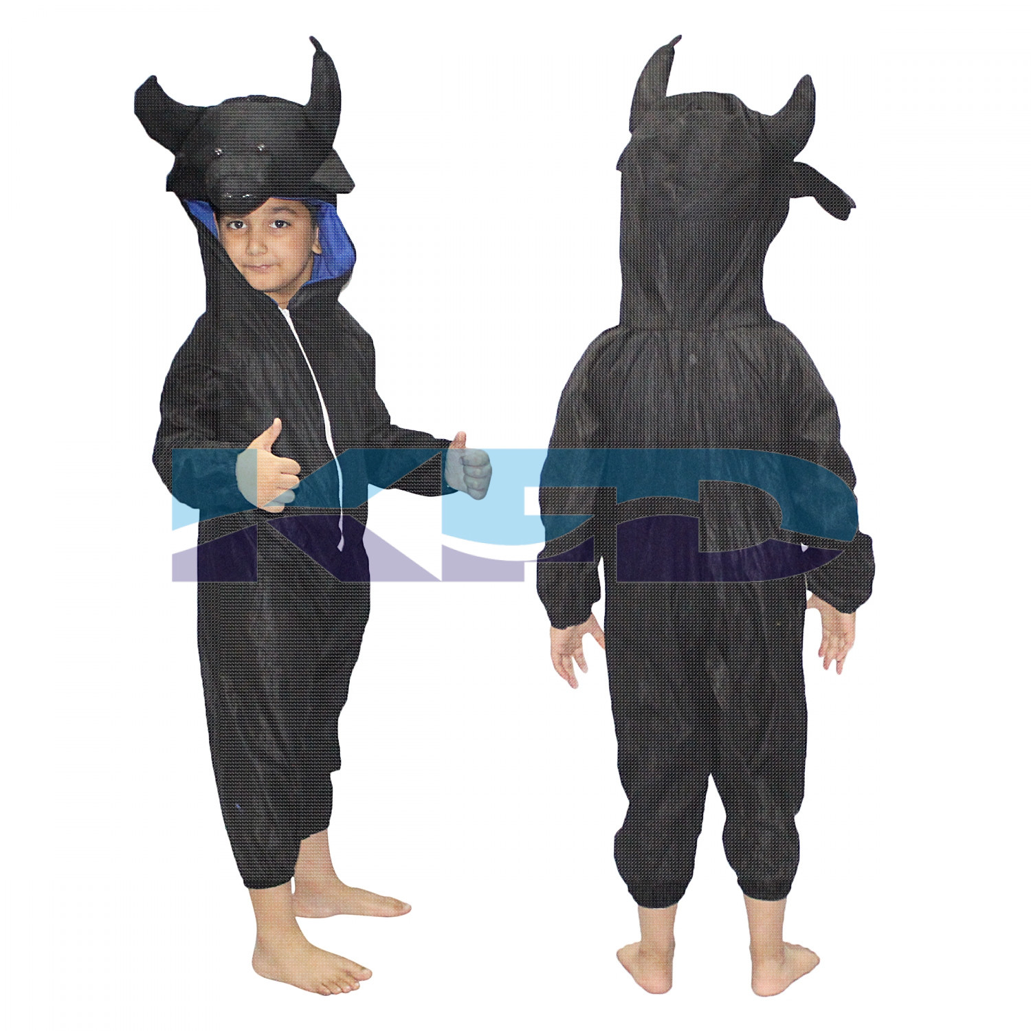 Buffalo fancy dress for kids,Farm Animal Costume for School Annual function/Theme Party/Competition/Stage Shows Dress
