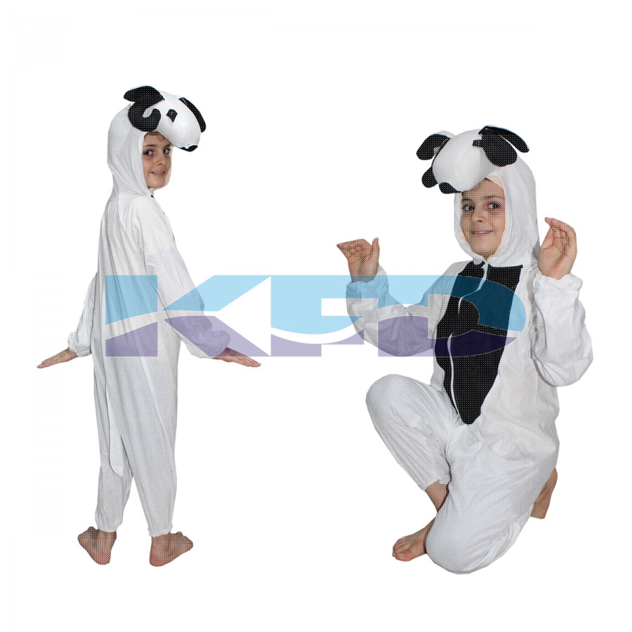 Sheep fancy dress for kids,Farm Animal Costume for School Annual function/Theme Party/Competition/Stage Shows Dress