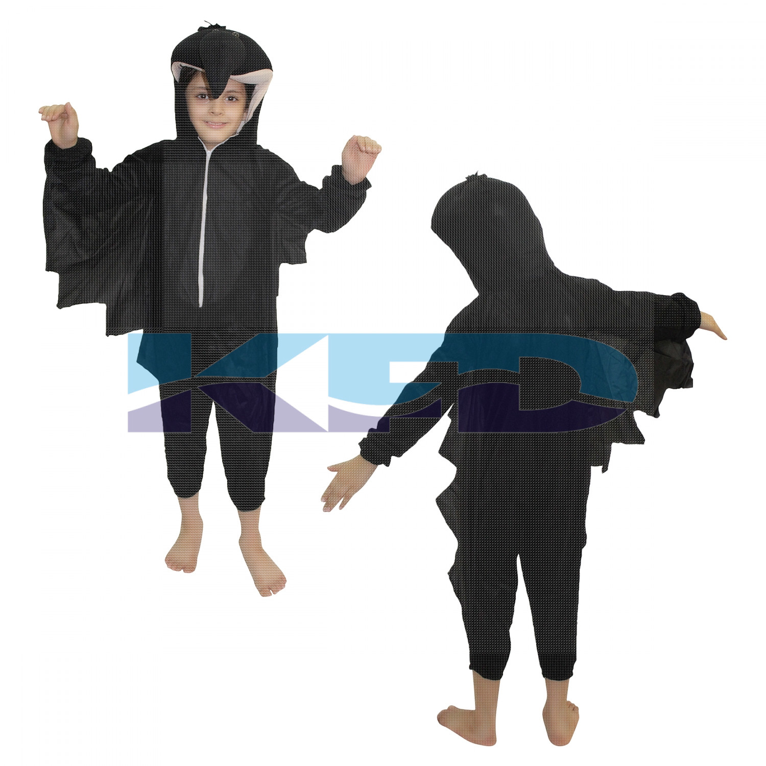 Crow fancy dress for kids,Bird Costume for School Annual function/Theme Party/Competition/Stage Shows Dress