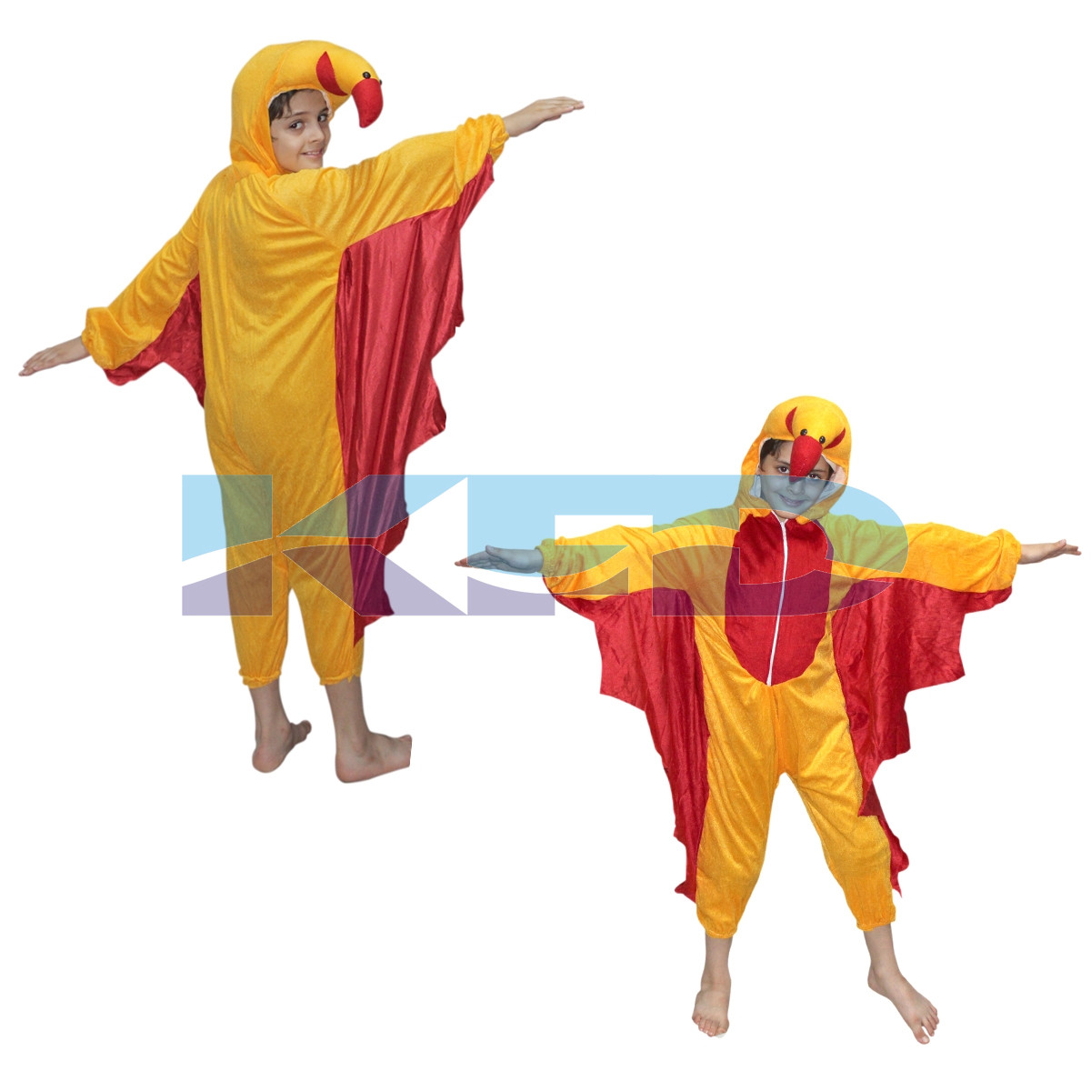 Macaw Bird fancy dress for kids,Bird Costume for School Annual function/Theme Party/Competition/Stage Shows Dress