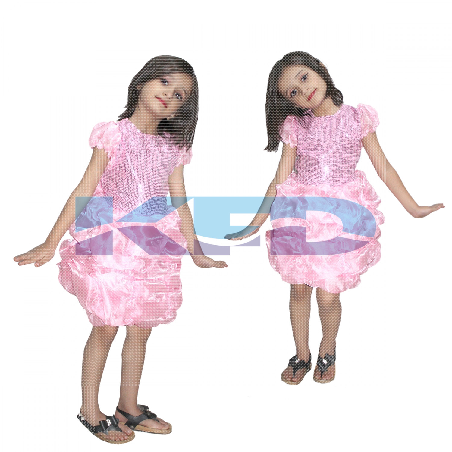 Barbie Girl fancy dress for kids,Fairy Tales Costume for Annual function/Theme Party/Competition/Stage Shows/Birthday Party Dress