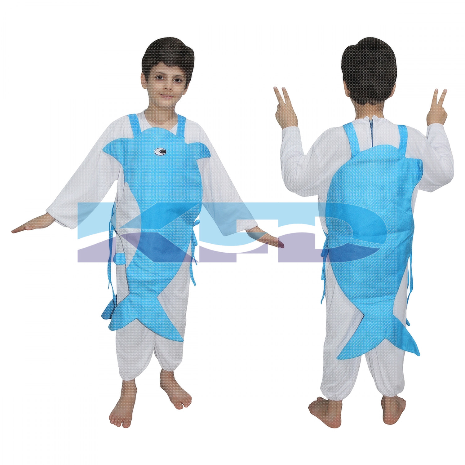 Dolphin fancy dress for kids,Insect Costume for School Annual function/Theme Party/Competition/Stage Shows Dress